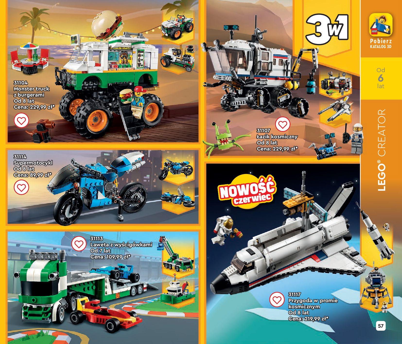 Gazetka LEGO: Gazetka LEGO - katalog 2021-06-30 page-57