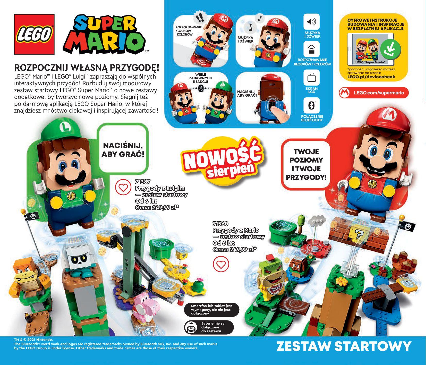 Gazetka LEGO: Gazetka LEGO - katalog 2021-06-30 page-58