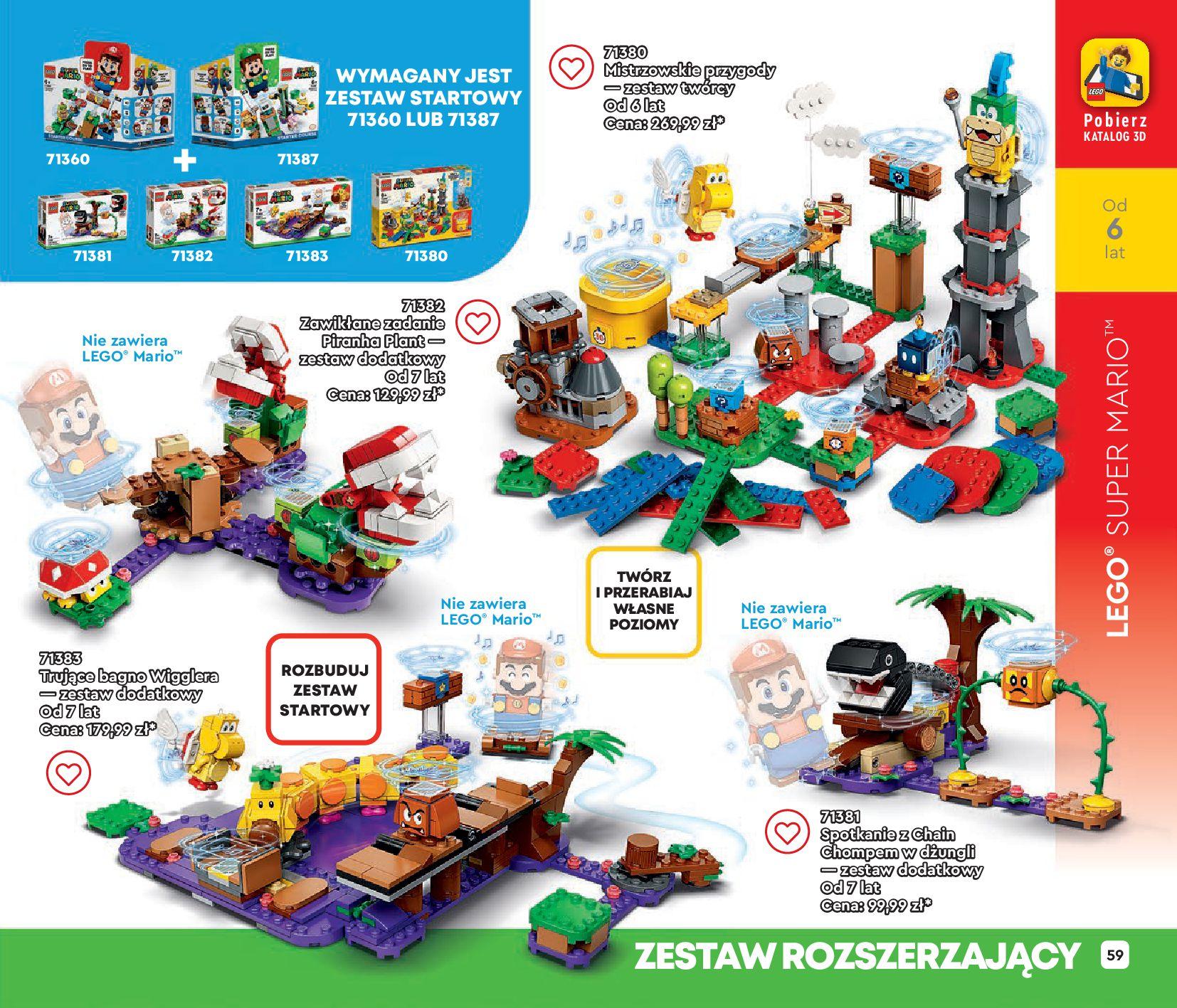 Gazetka LEGO: Gazetka LEGO - katalog 2021-06-30 page-59
