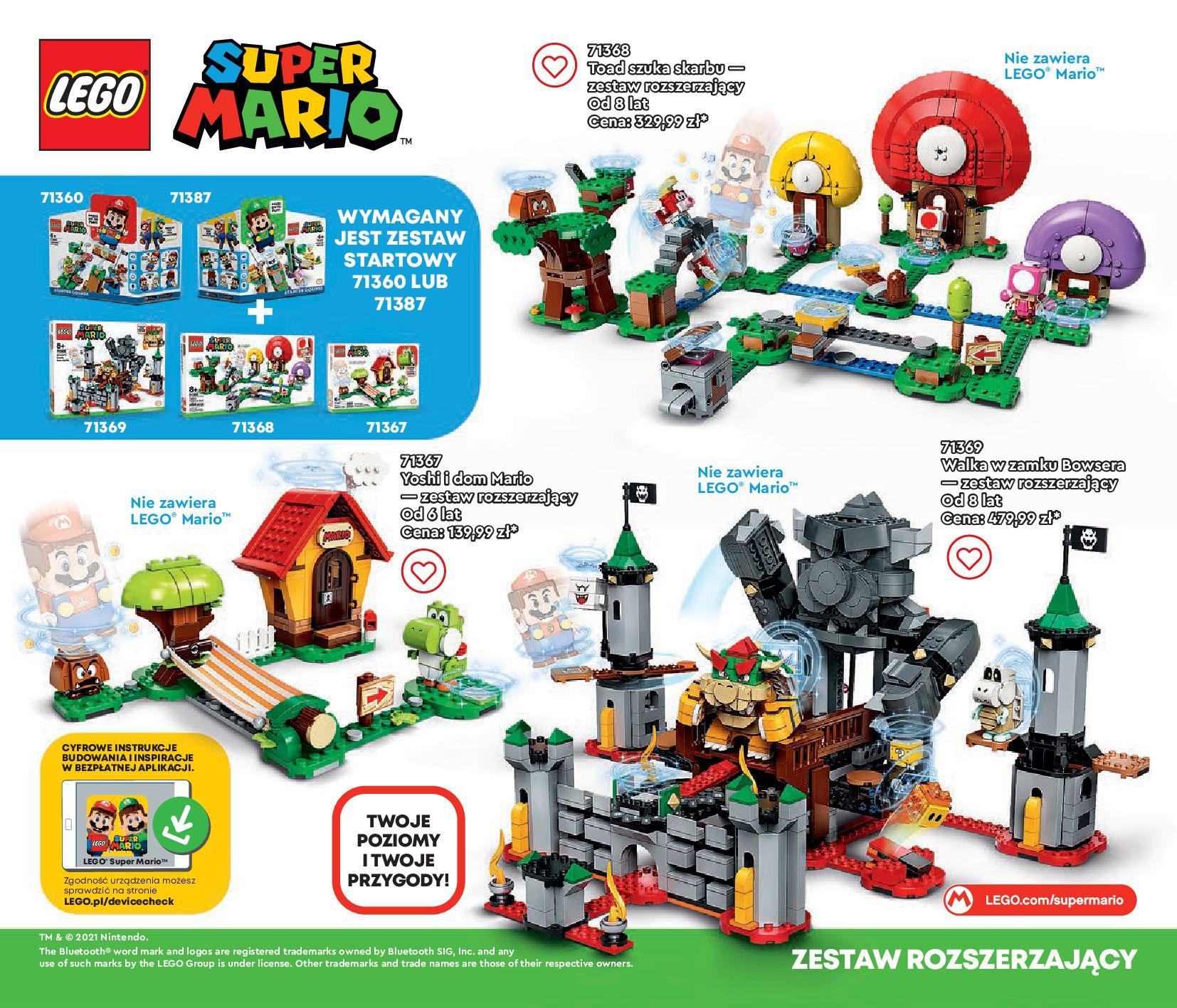 Gazetka LEGO: Gazetka LEGO - katalog 2021-06-30 page-60