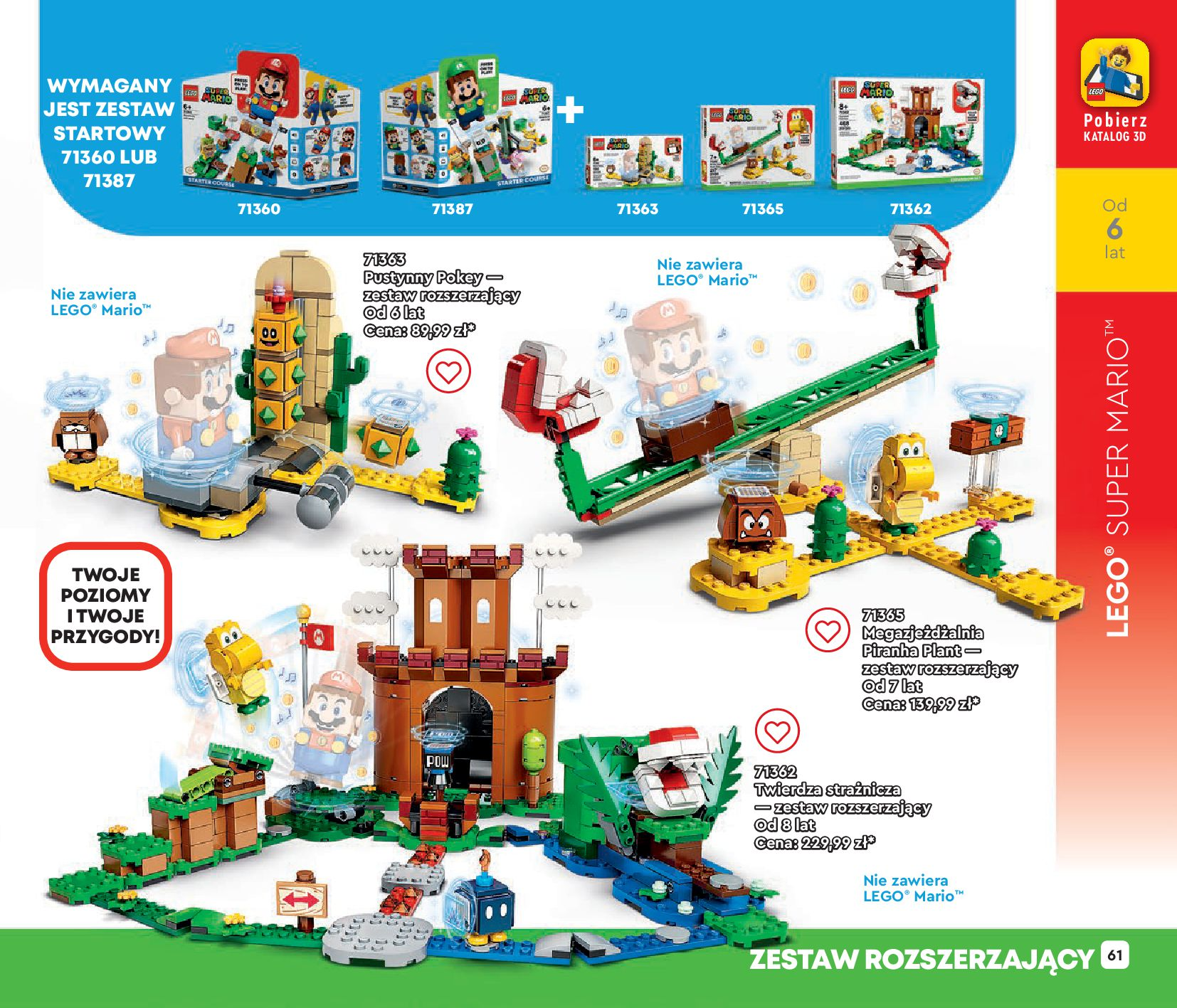 Gazetka LEGO: Gazetka LEGO - katalog 2021-06-30 page-61