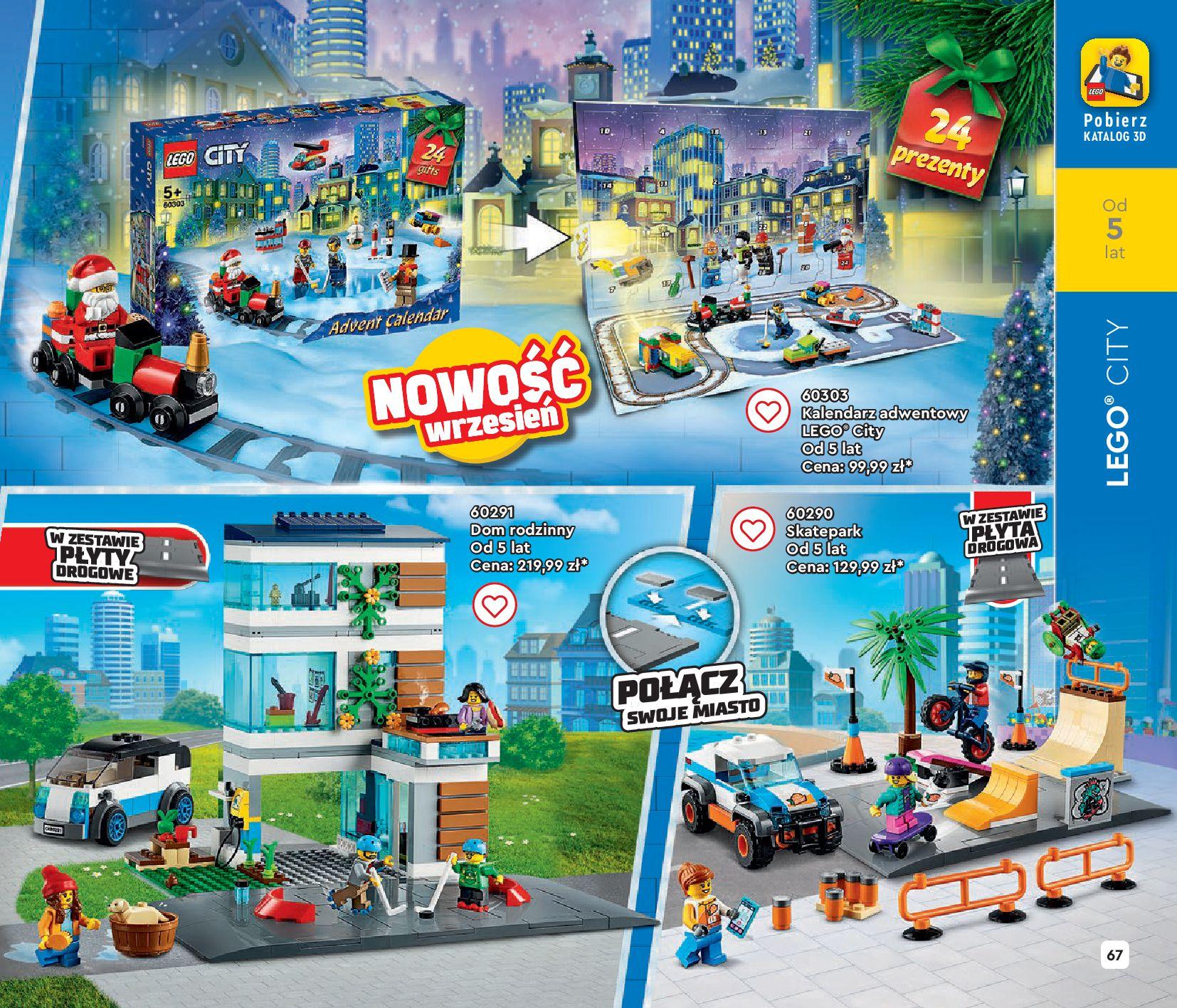 Gazetka LEGO: Gazetka LEGO - katalog 2021-06-30 page-67