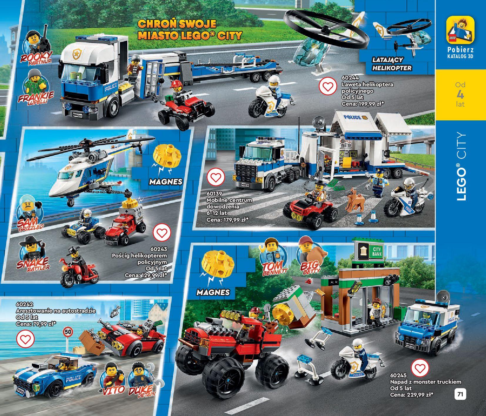 Gazetka LEGO: Gazetka LEGO - katalog 2021-06-30 page-71
