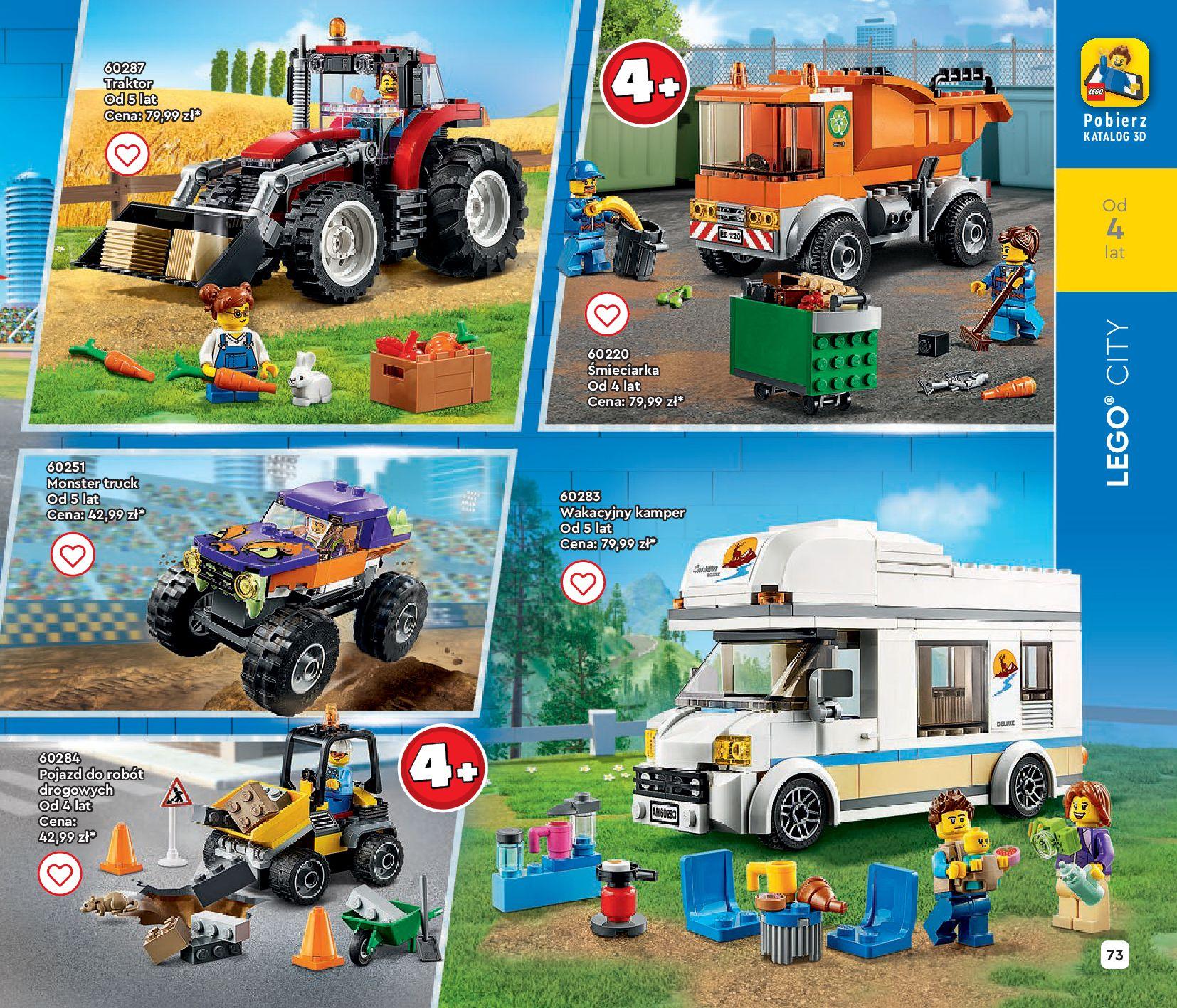 Gazetka LEGO: Gazetka LEGO - katalog 2021-06-30 page-73