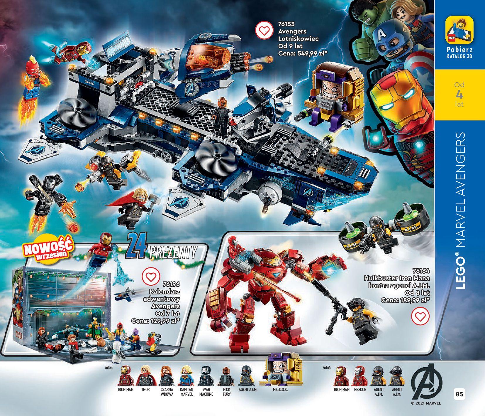 Gazetka LEGO: Gazetka LEGO - katalog 2021-06-30 page-85