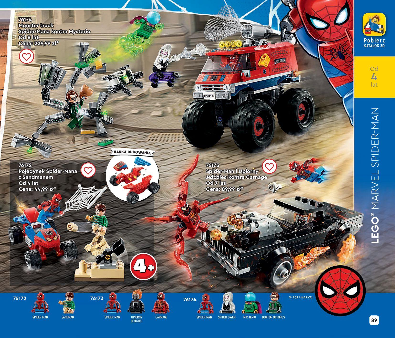 Gazetka LEGO: Gazetka LEGO - katalog 2021-06-30 page-89