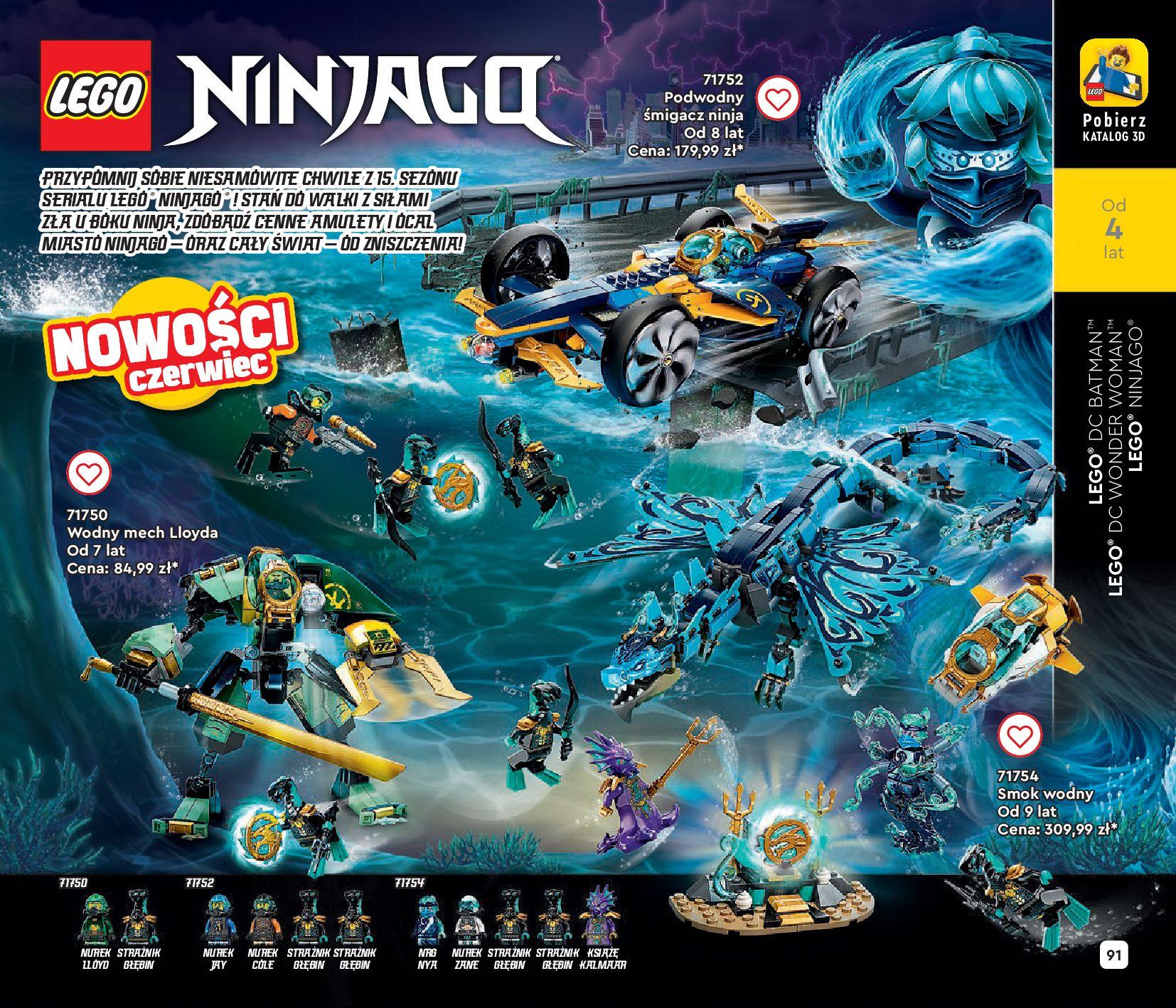 Gazetka LEGO: Gazetka LEGO - katalog 2021-06-30 page-91
