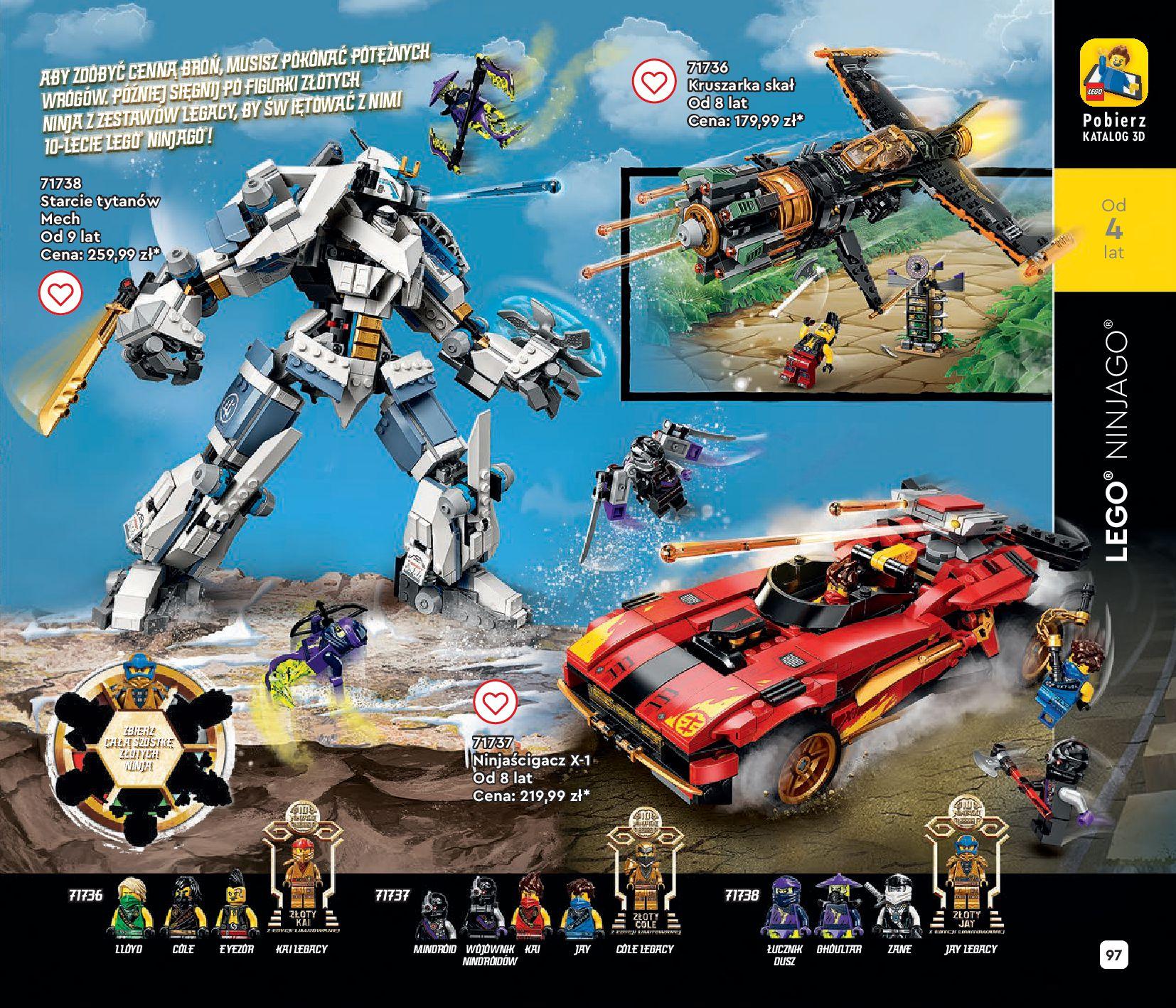 Gazetka LEGO: Gazetka LEGO - katalog 2021-06-30 page-97