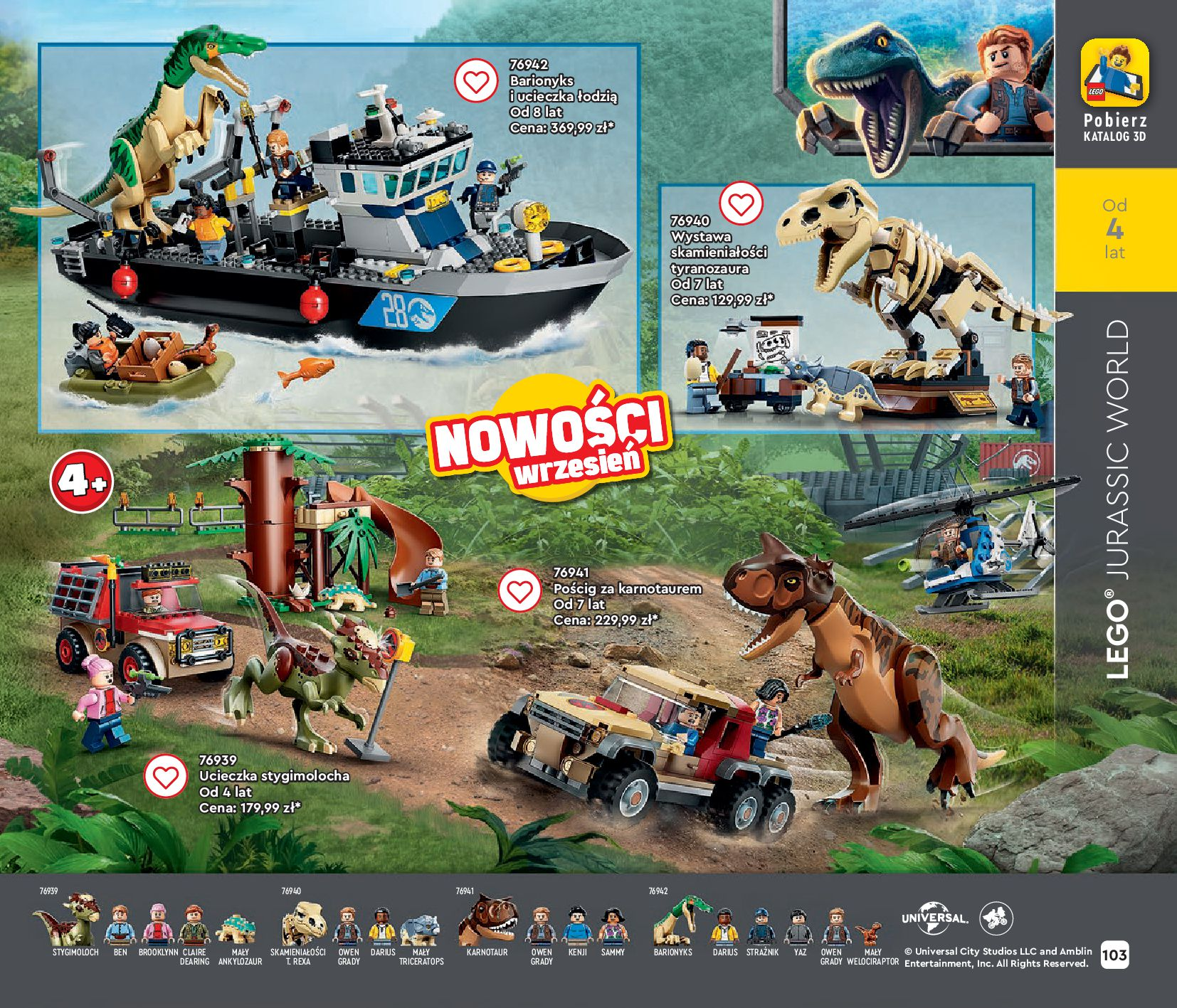 Gazetka LEGO: Gazetka LEGO - katalog 2021-06-30 page-103