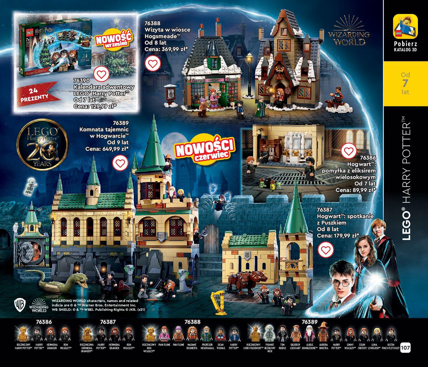 Gazetka LEGO: Gazetka LEGO - katalog 2021-06-30 page-107