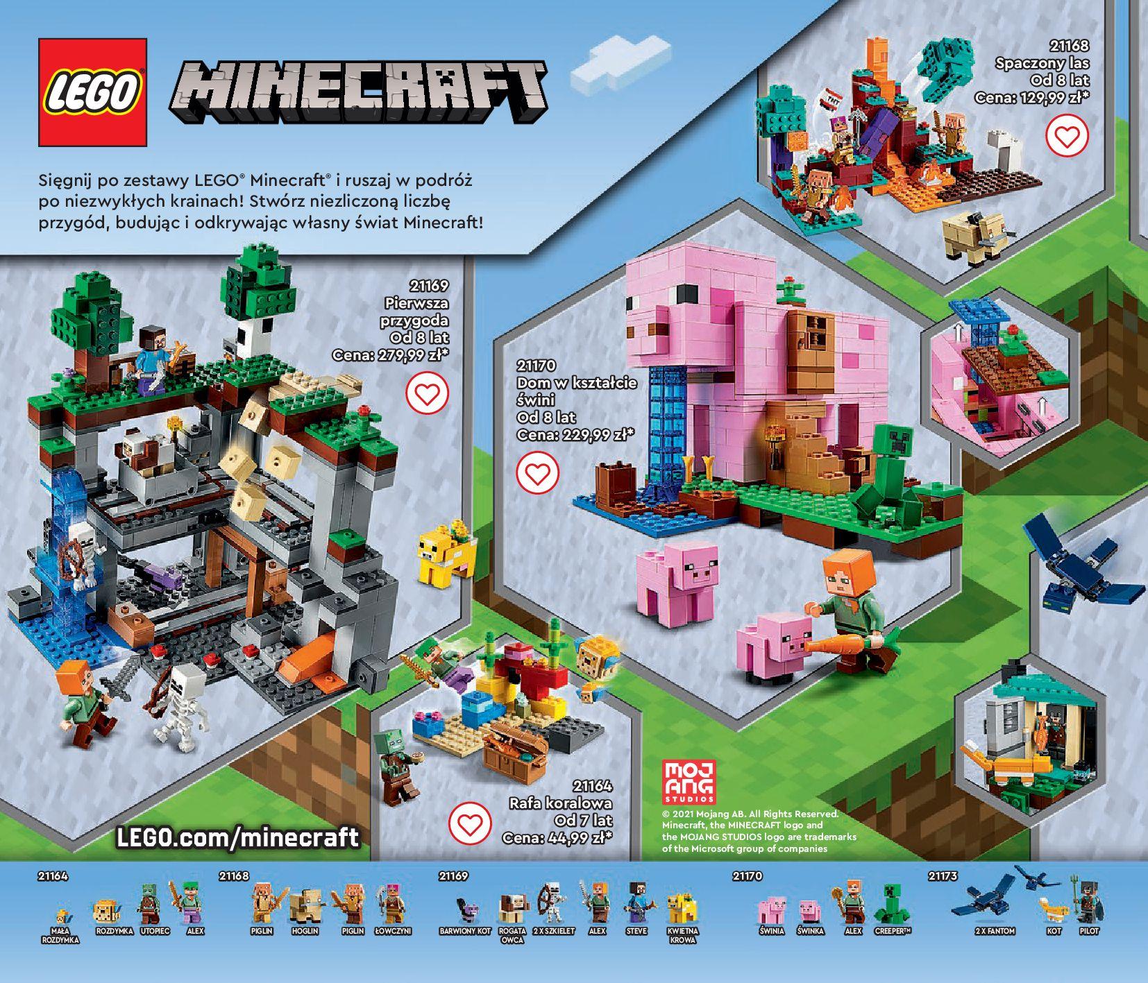 Gazetka LEGO: Gazetka LEGO - katalog 2021-06-30 page-110