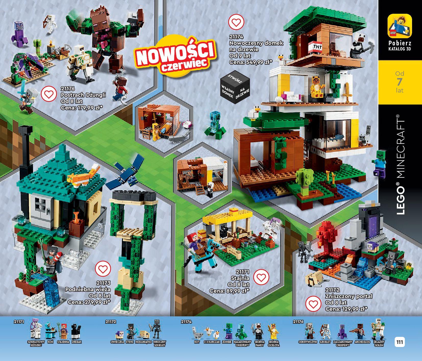 Gazetka LEGO: Gazetka LEGO - katalog 2021-06-30 page-111