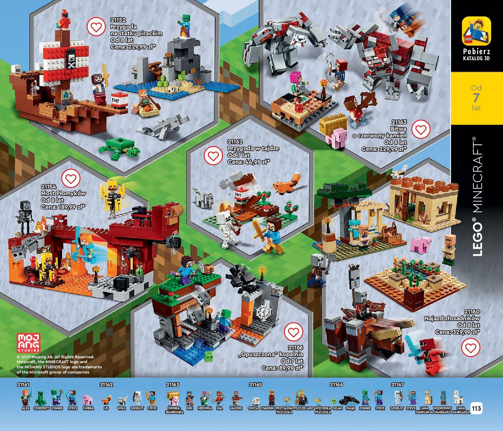 Gazetka LEGO: Gazetka LEGO - katalog 2021-06-30 page-113