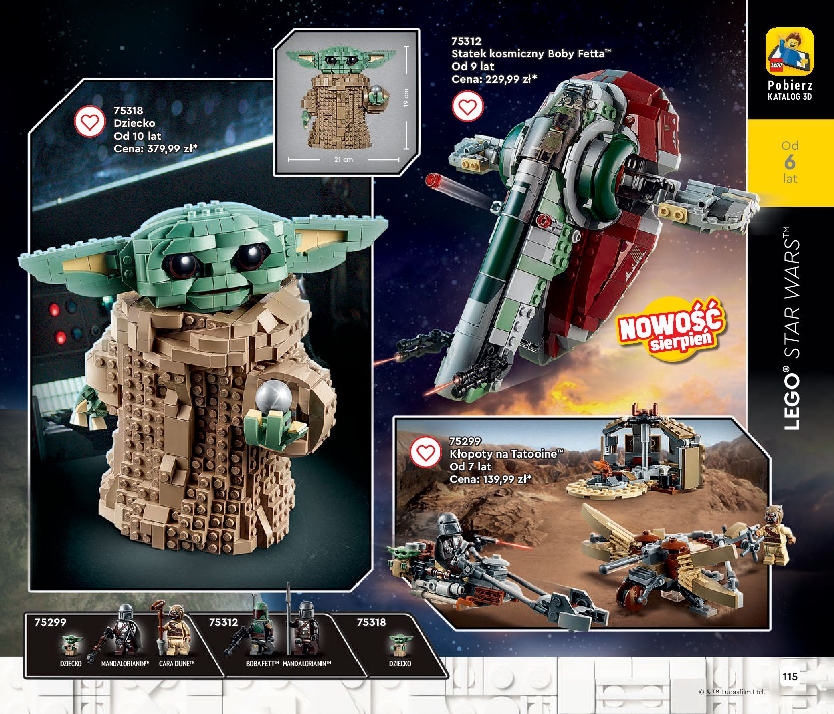 Gazetka LEGO: Gazetka LEGO - katalog 2021-06-30 page-115