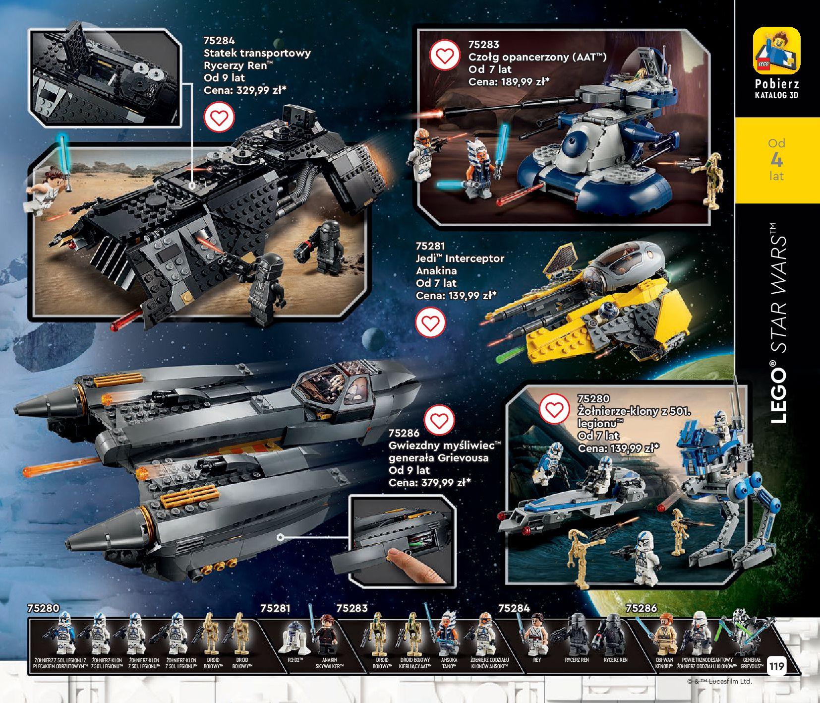 Gazetka LEGO: Gazetka LEGO - katalog 2021-06-30 page-119