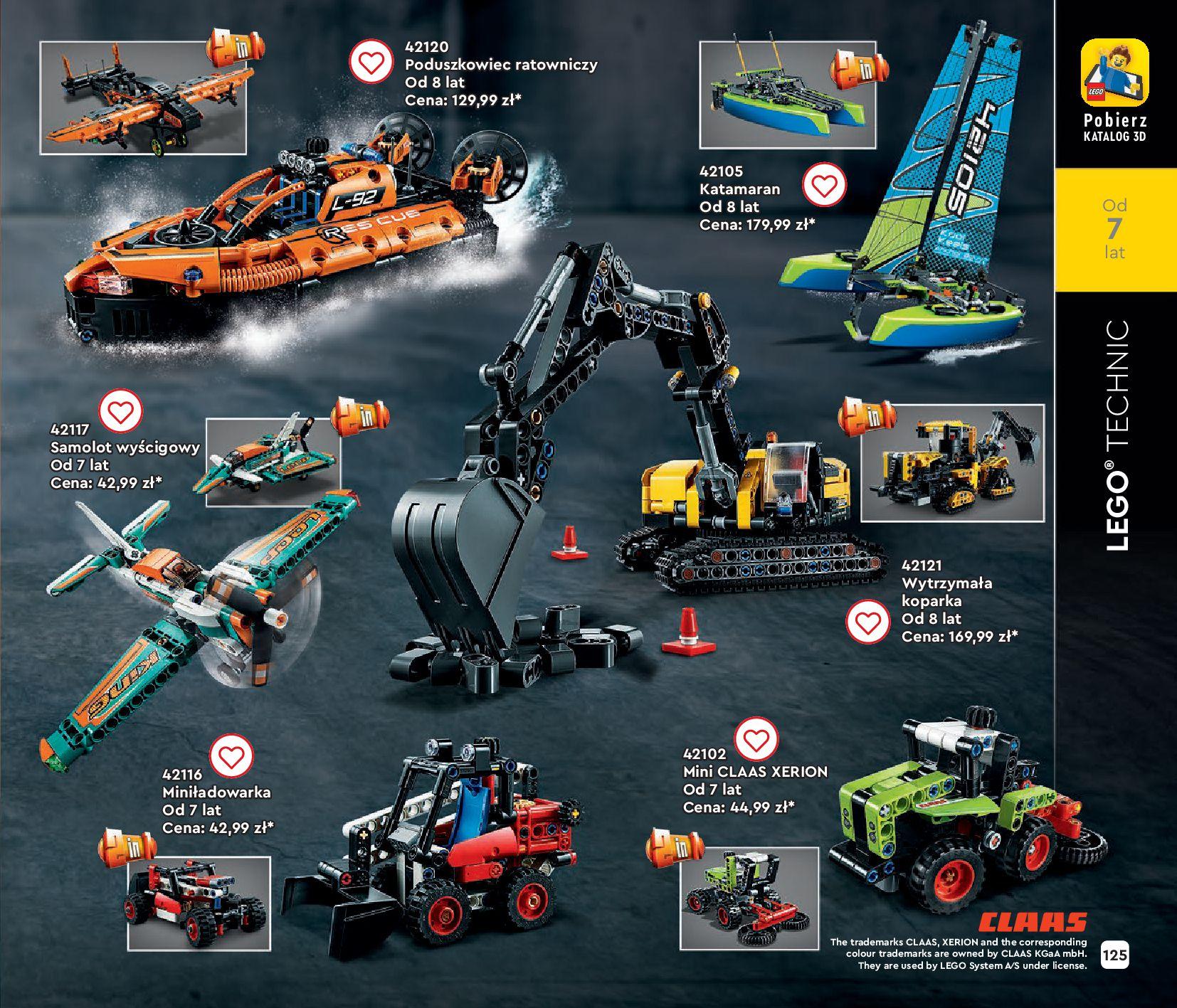 Gazetka LEGO: Gazetka LEGO - katalog 2021-06-30 page-125