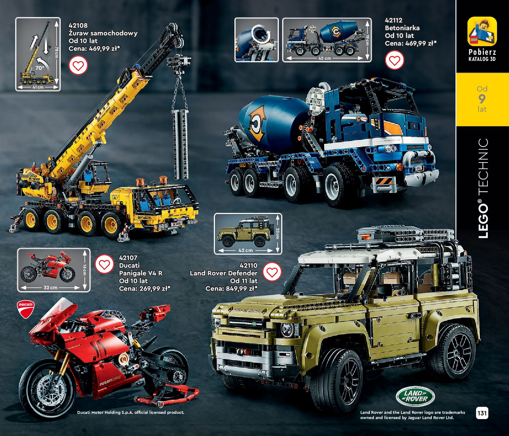 Gazetka LEGO: Gazetka LEGO - katalog 2021-06-30 page-131