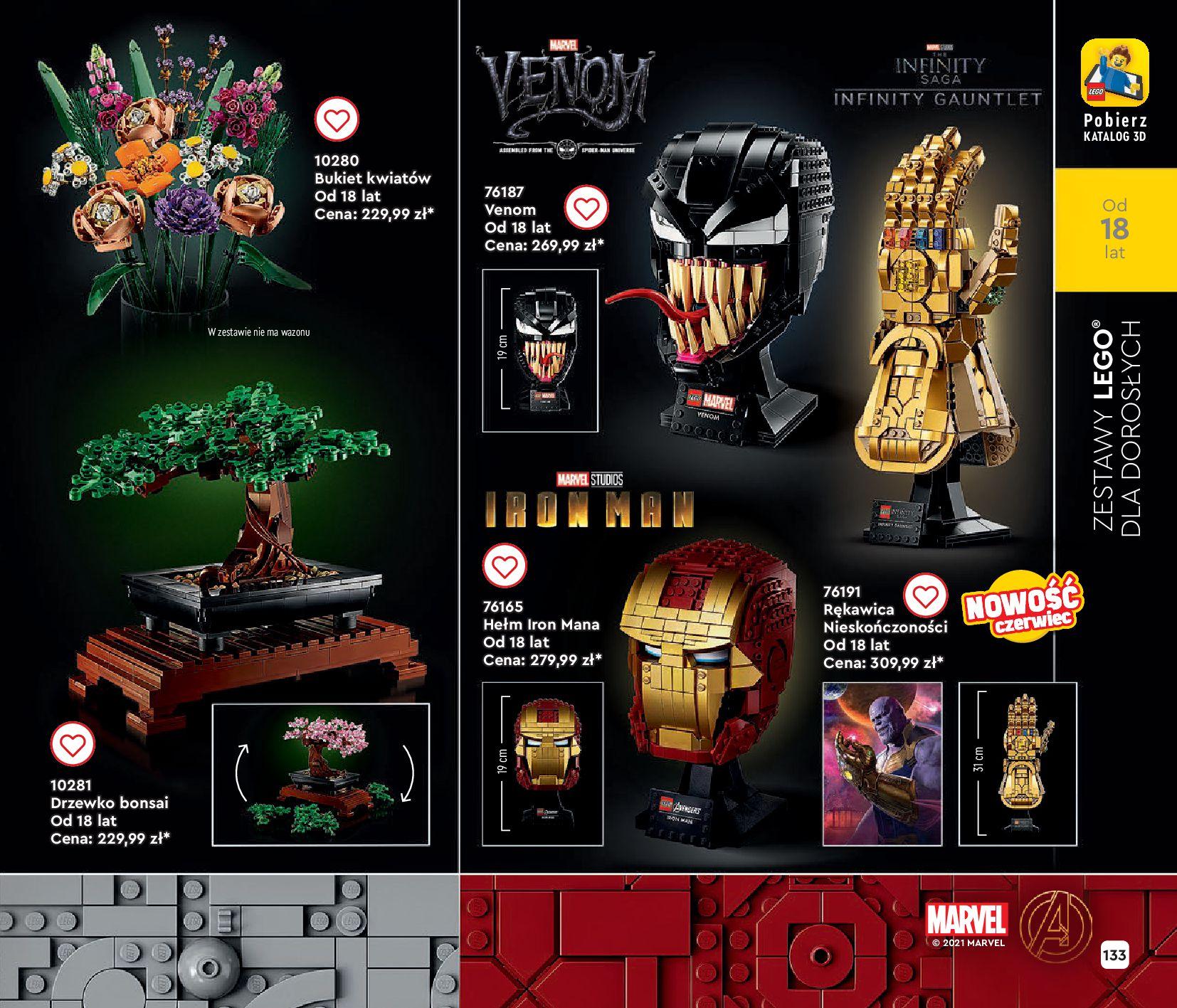 Gazetka LEGO: Gazetka LEGO - katalog 2021-06-30 page-133