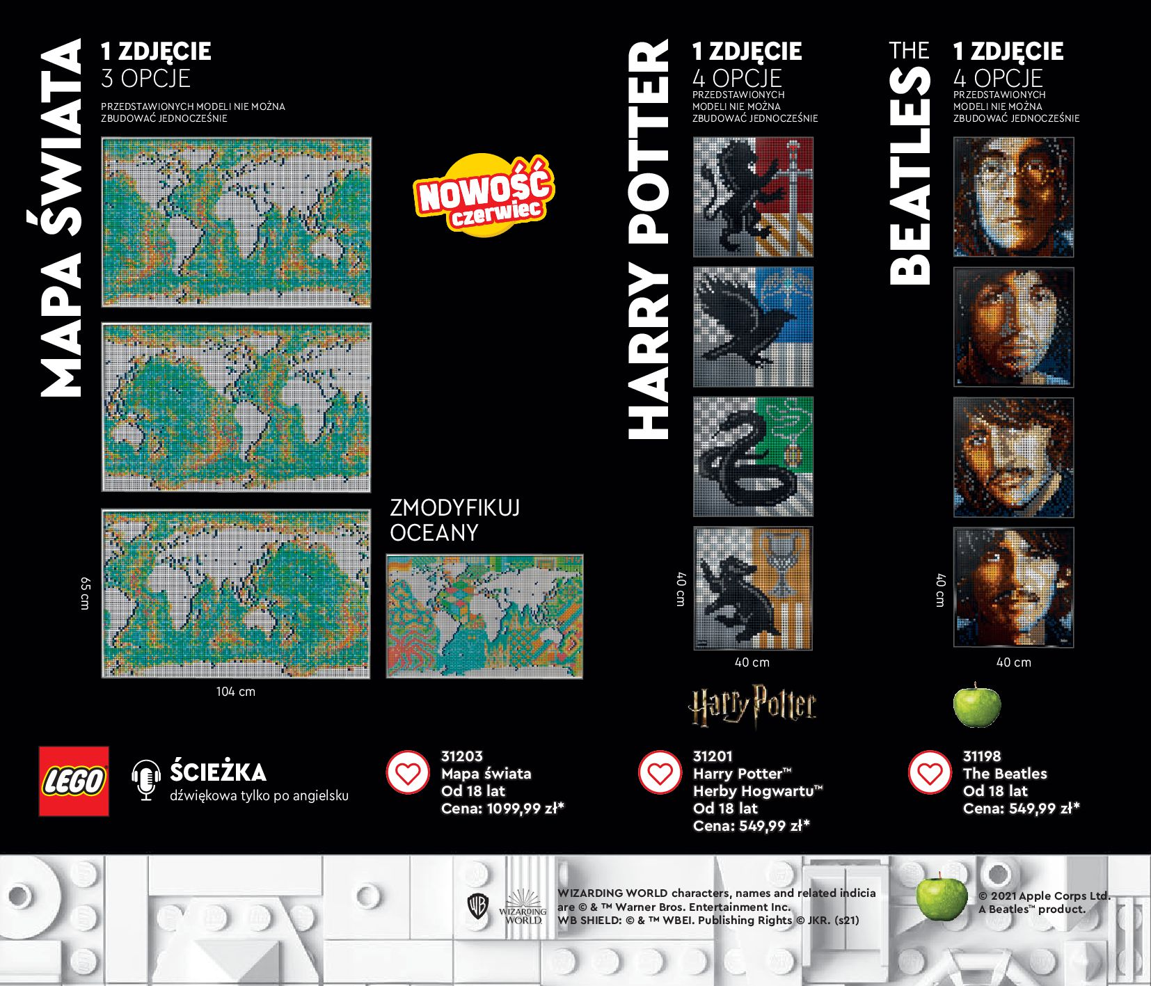 Gazetka LEGO: Gazetka LEGO - katalog 2021-06-30 page-134