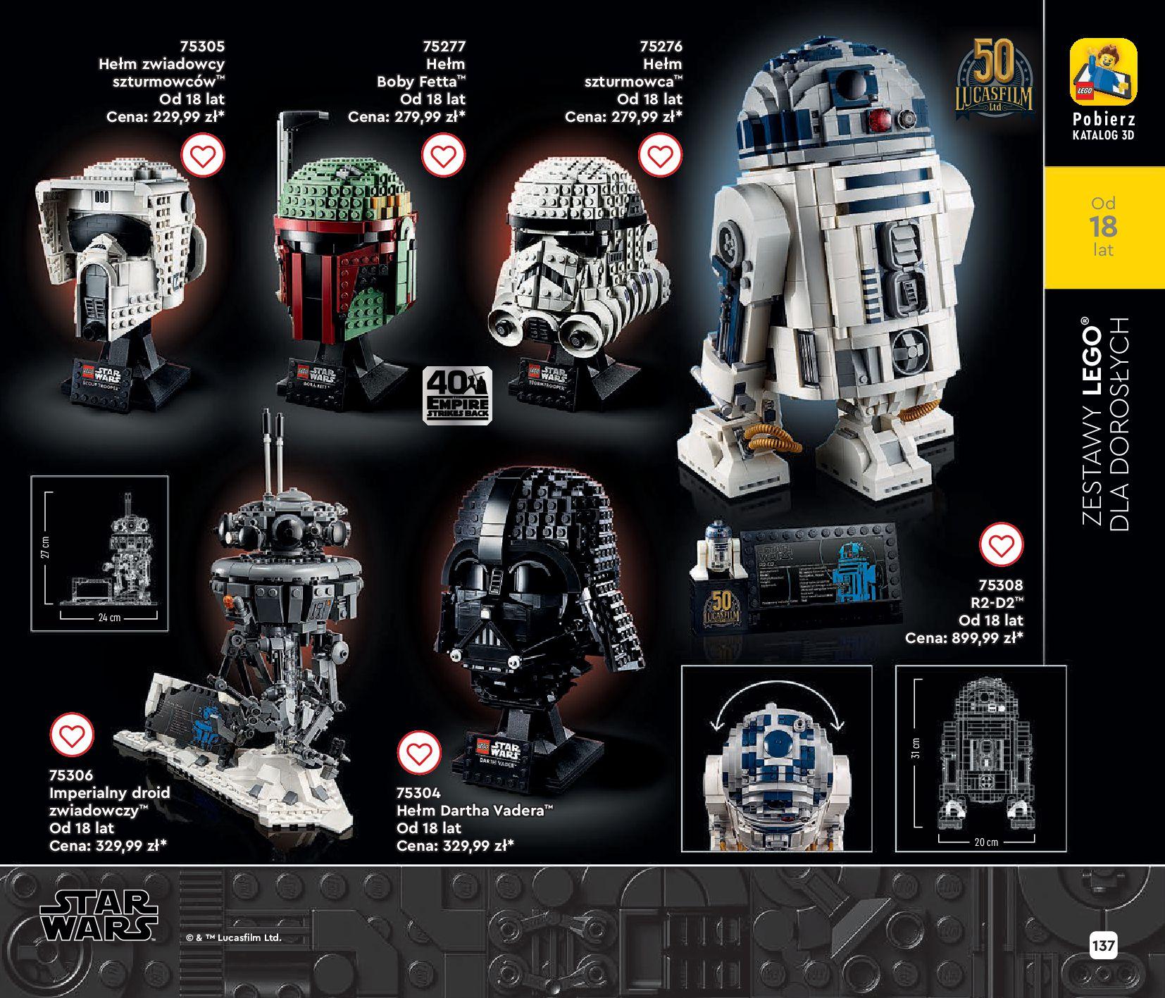 Gazetka LEGO: Gazetka LEGO - katalog 2021-06-30 page-137