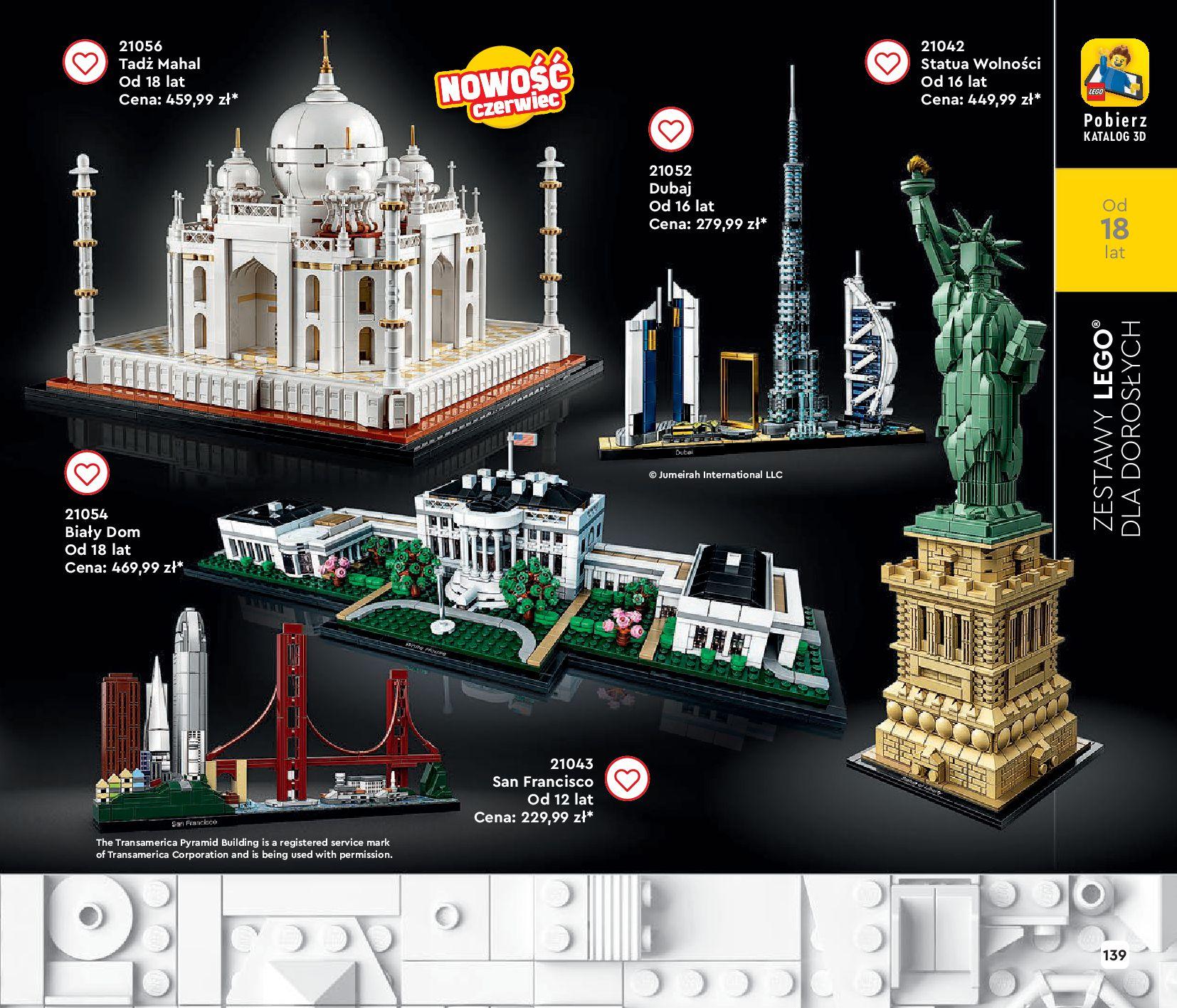 Gazetka LEGO: Gazetka LEGO - katalog 2021-06-30 page-139