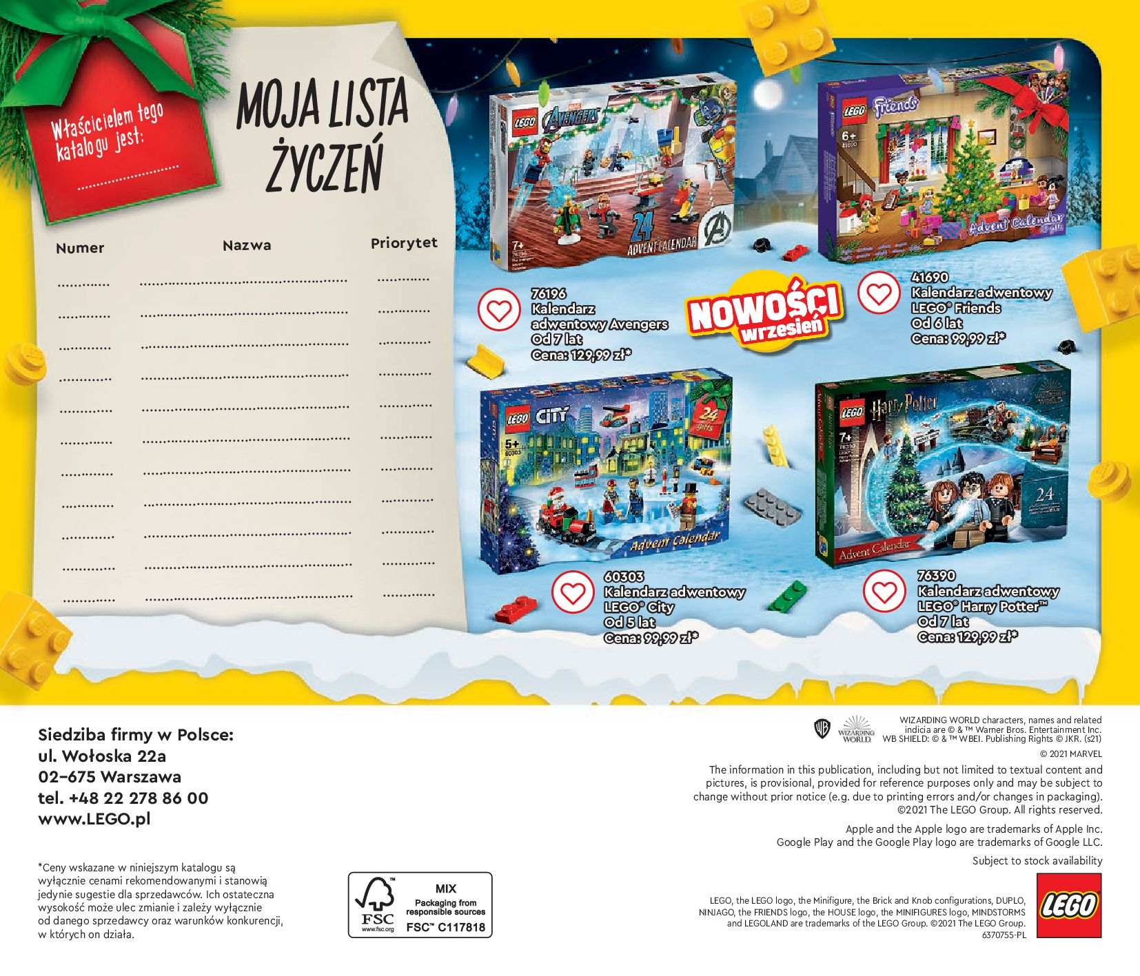 Gazetka LEGO: Gazetka LEGO - katalog 2021-06-30 page-140