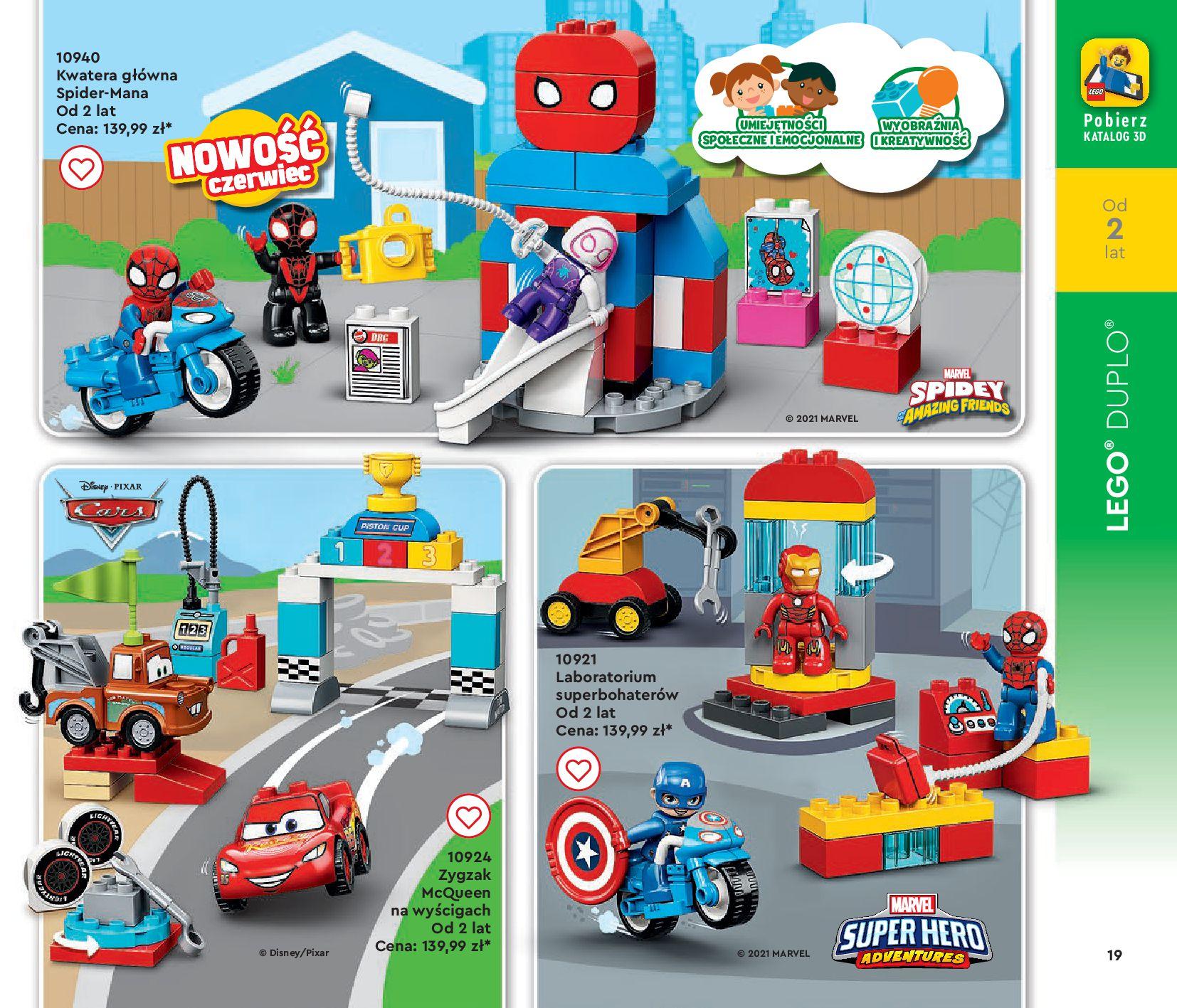 Gazetka LEGO: Gazetka LEGO - katalog 2021-06-30 page-19