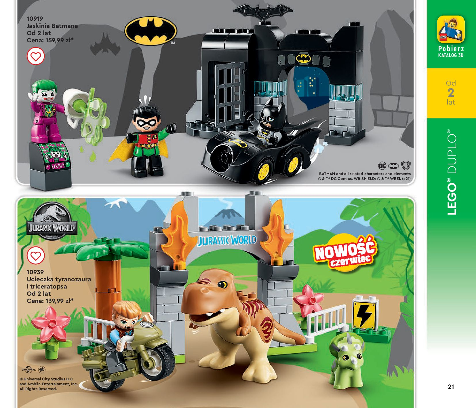 Gazetka LEGO: Gazetka LEGO - katalog 2021-06-30 page-21