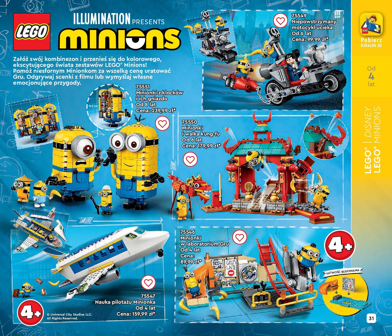 Gazetka LEGO: Gazetka LEGO - katalog 2021-06-30 page-31