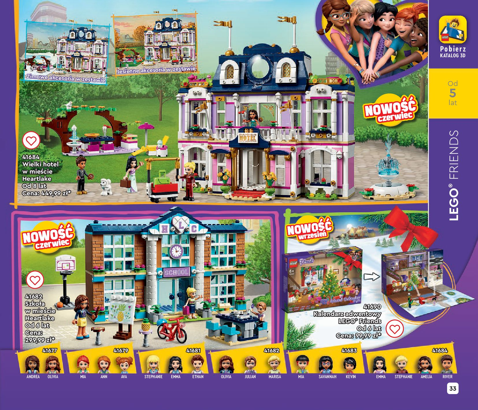 Gazetka LEGO: Gazetka LEGO - katalog 2021-06-30 page-33