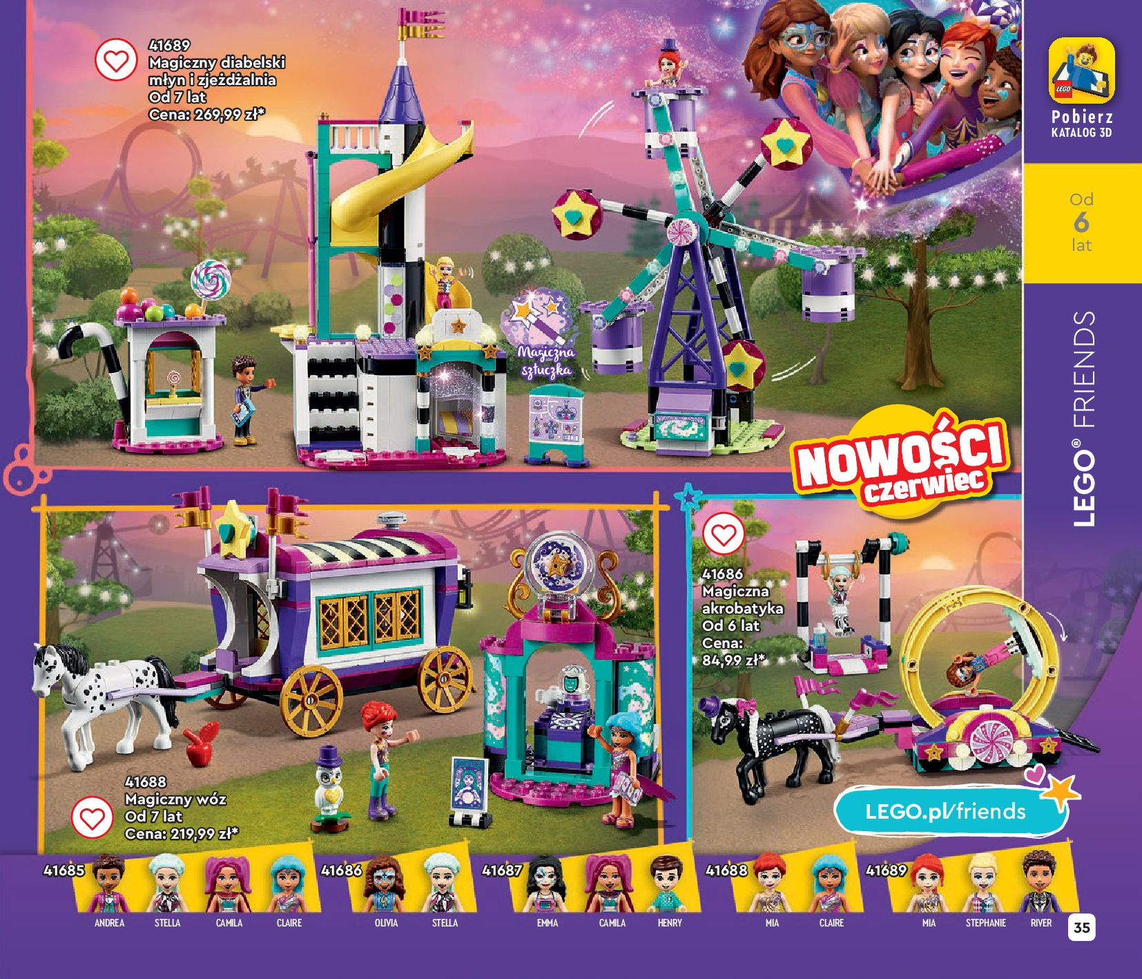 Gazetka LEGO: Gazetka LEGO - katalog 2021-06-30 page-35