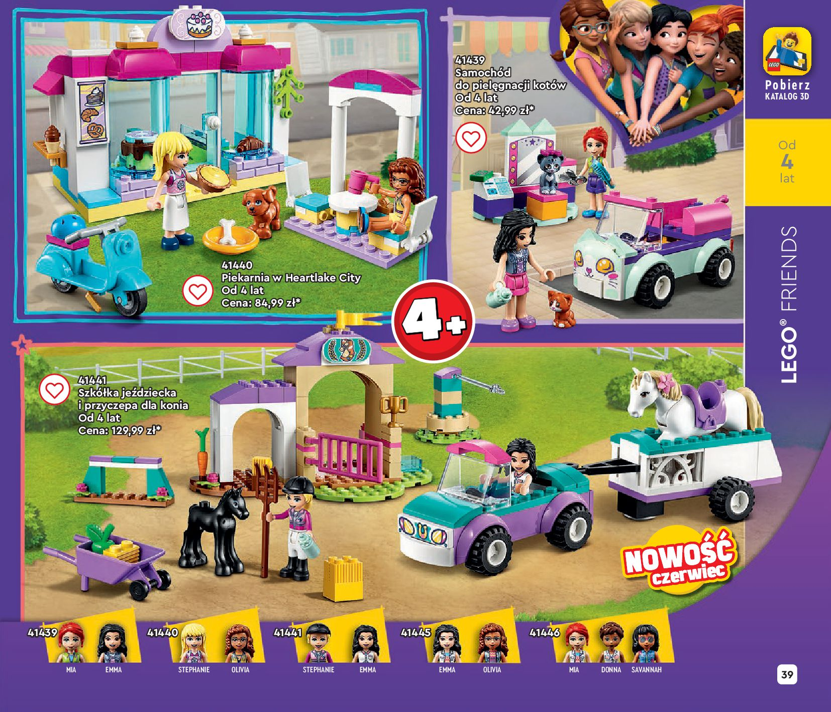 Gazetka LEGO: Gazetka LEGO - katalog 2021-06-30 page-39