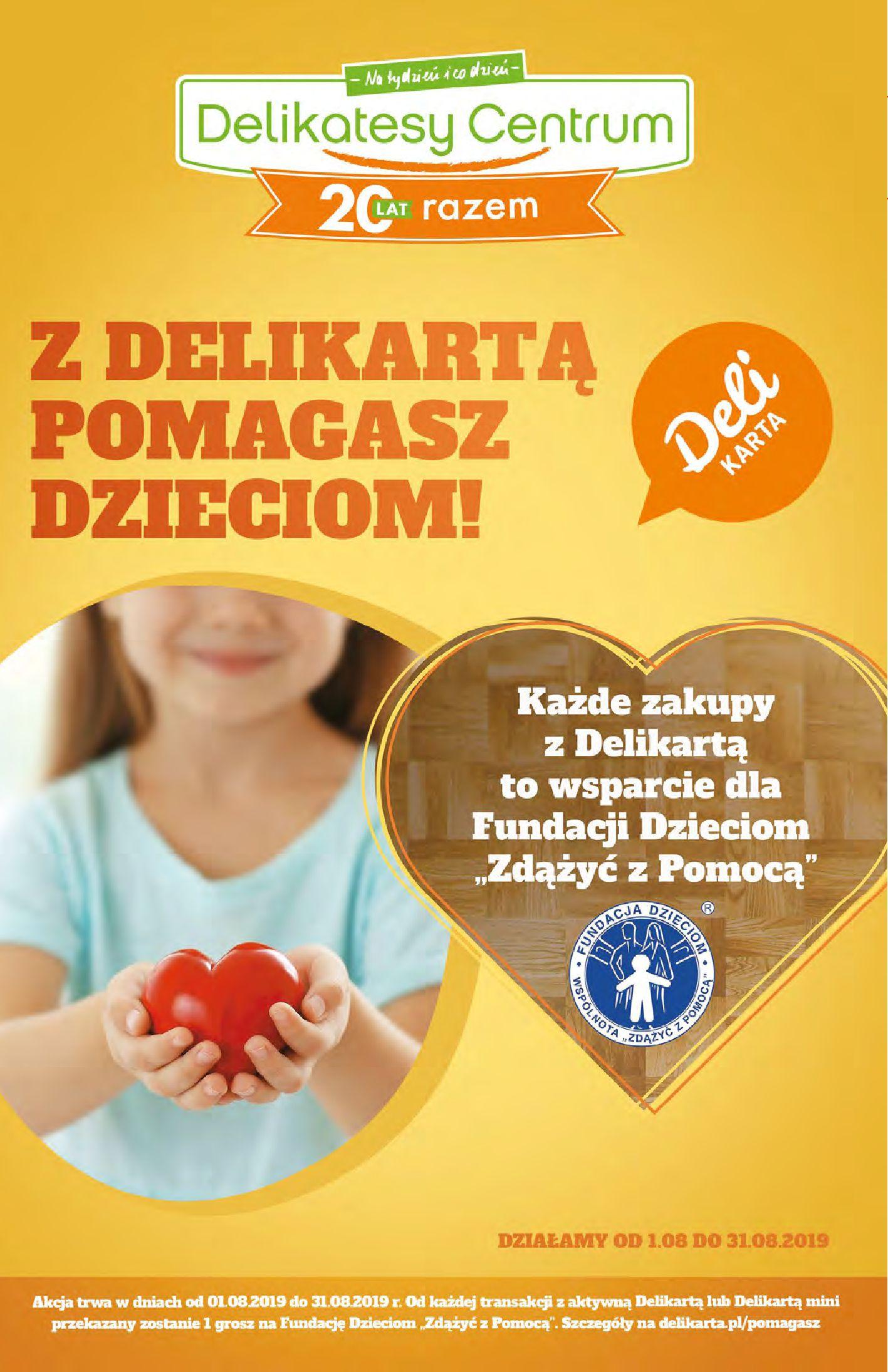 Gazetka Delikatesy Centrum - Oferta na art. spożywcze i kosmetyki-13.08.2019-21.08.2019-page-