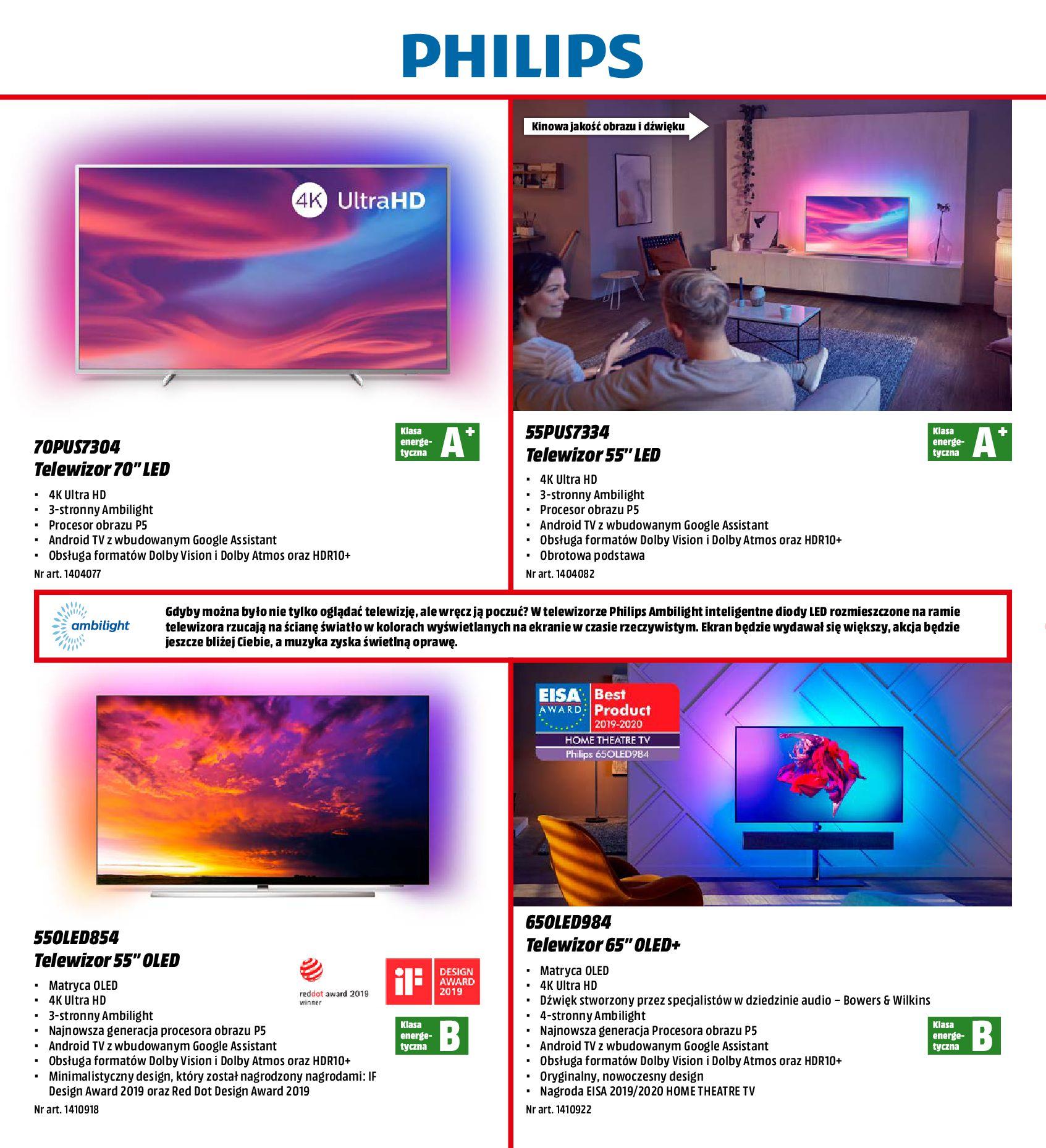 Gazetka Media Markt - Nowy wymiar domowej rozrywki-30.09.2019-31.10.2019-page-10
