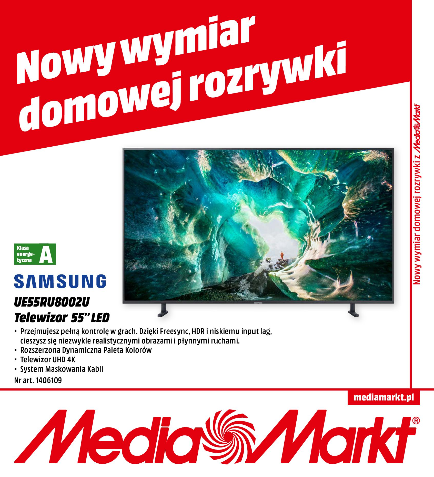 Gazetka Media Markt - Nowy wymiar domowej rozrywki-30.09.2019-31.10.2019-page-1