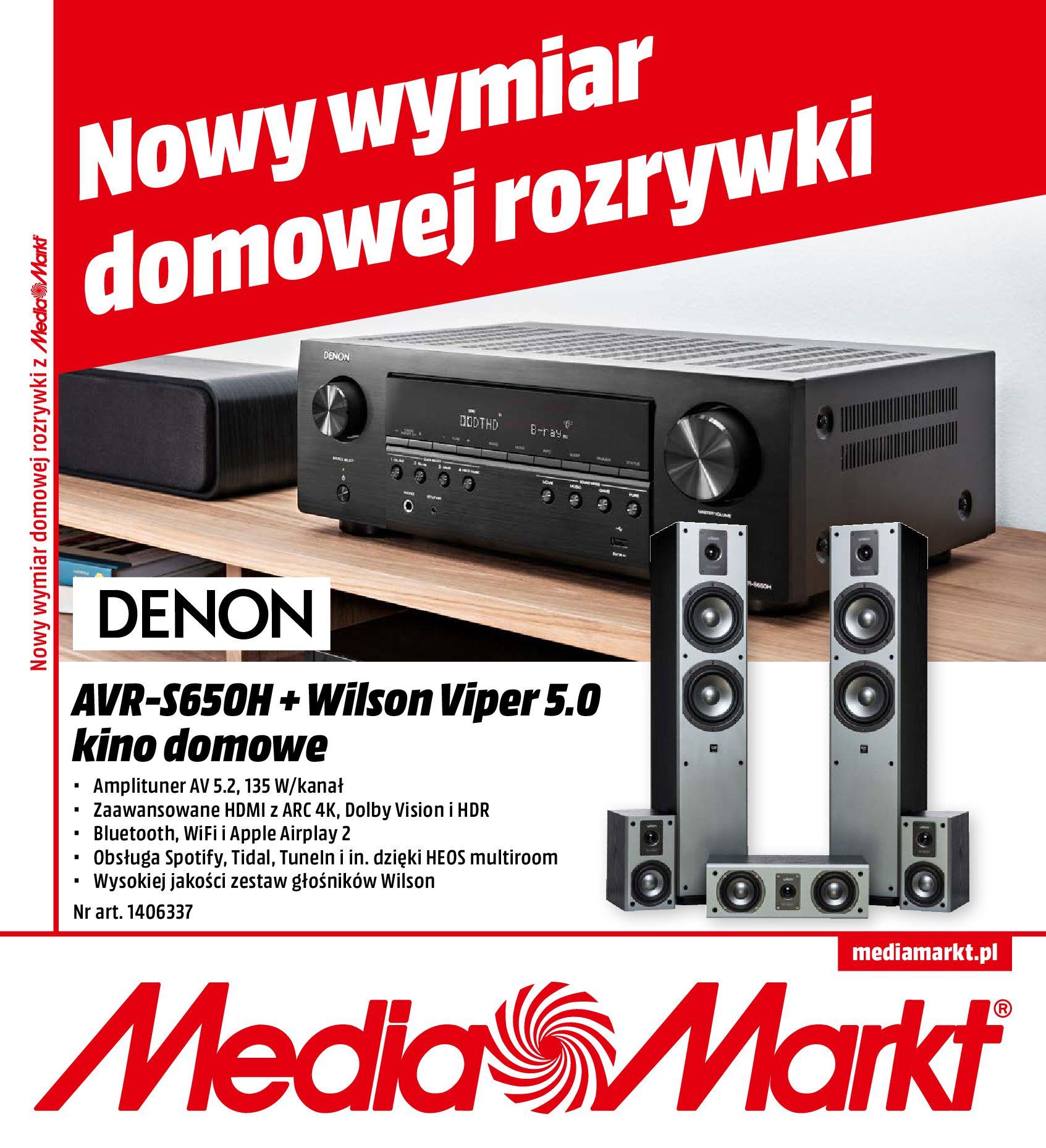 Gazetka Media Markt - Nowy wymiar domowej rozrywki-30.09.2019-31.10.2019-page-16
