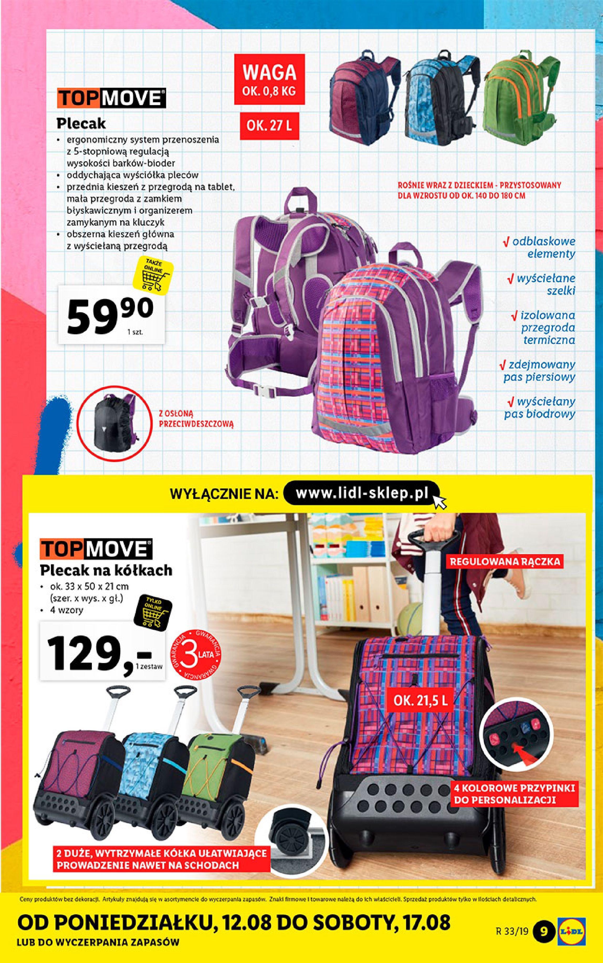 Gazetka Lidl - Katalog-11.08.2019-17.08.2019-page-9