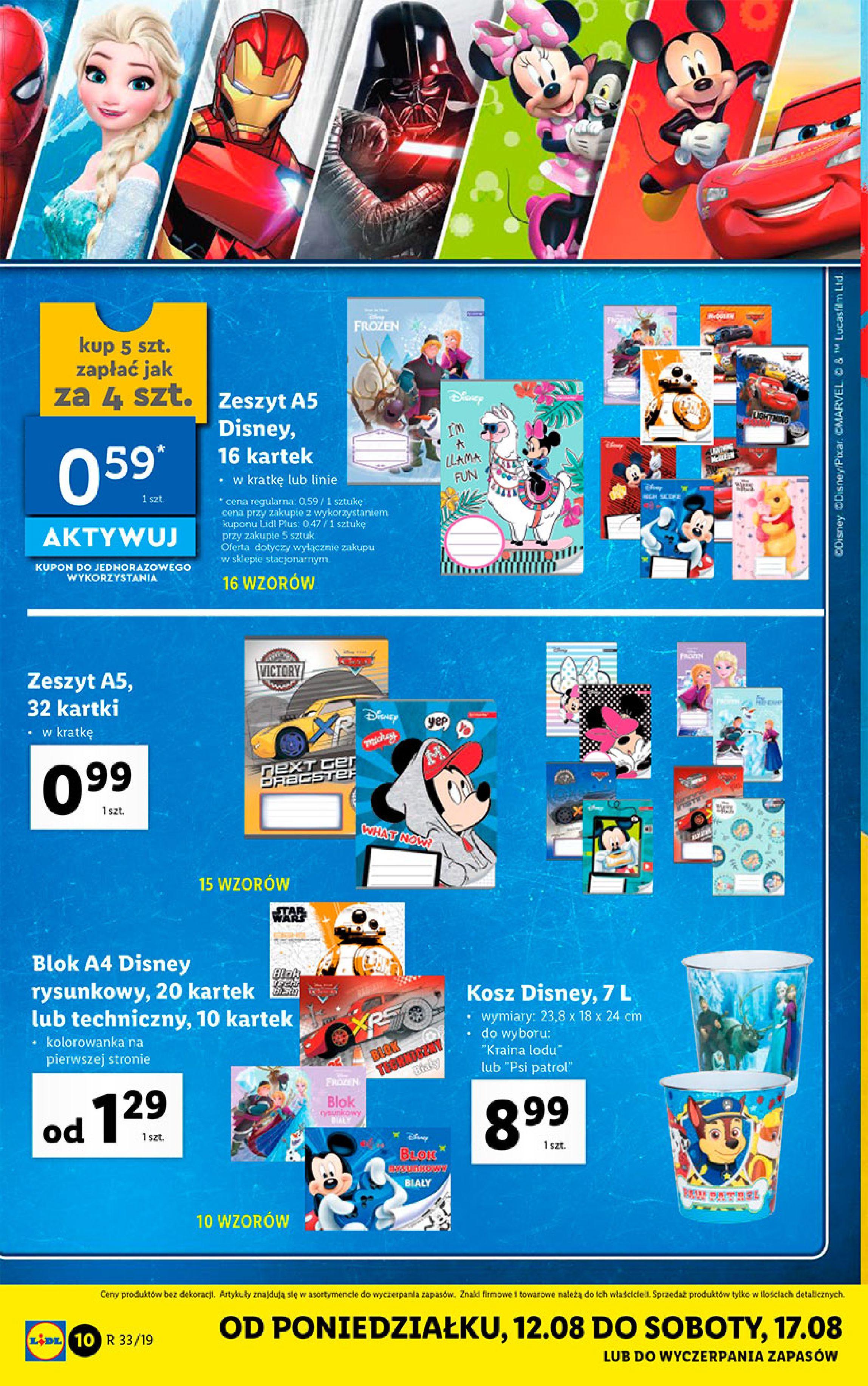 Gazetka Lidl - Katalog-11.08.2019-17.08.2019-page-10