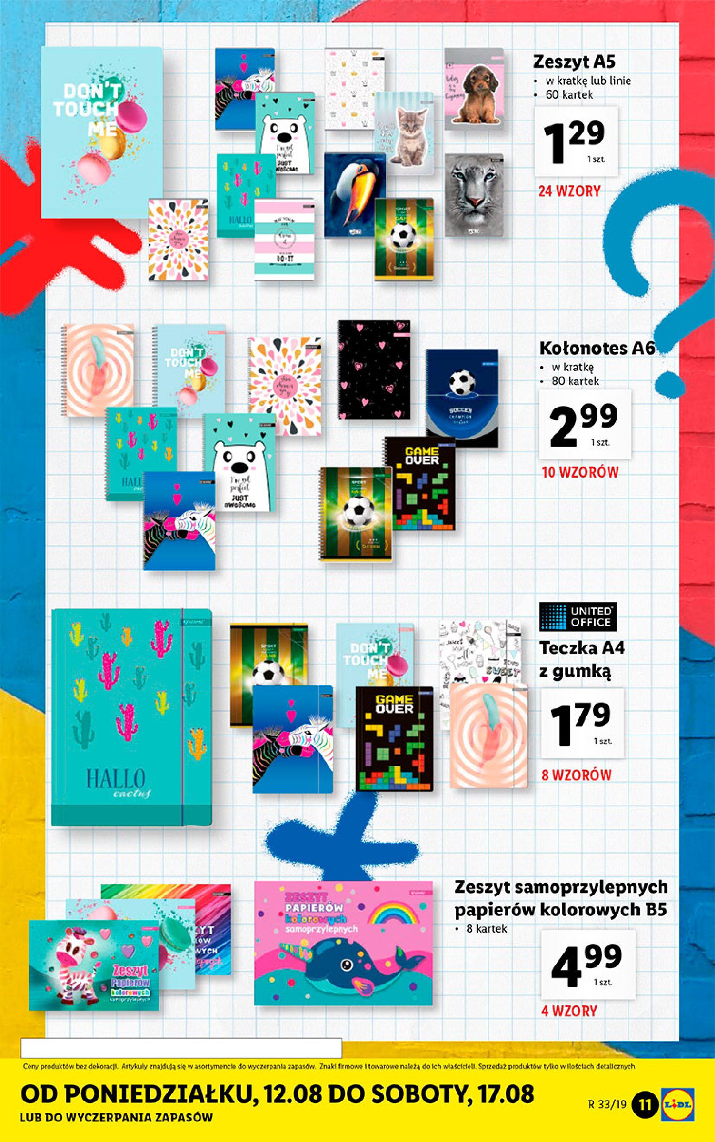 Gazetka Lidl - Katalog-11.08.2019-17.08.2019-page-11