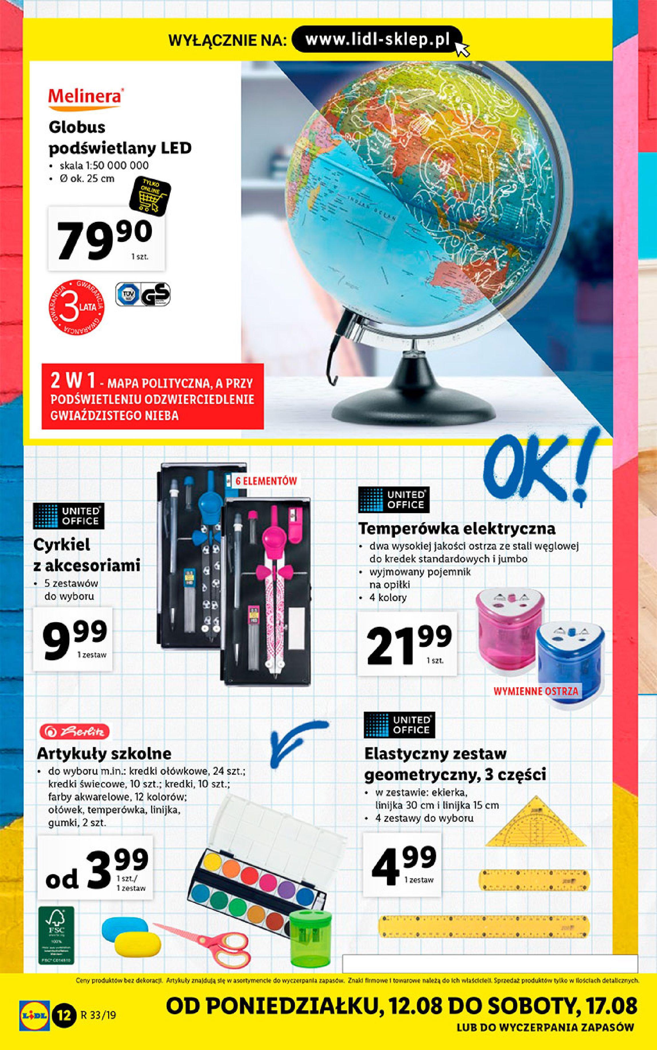 Gazetka Lidl - Katalog-11.08.2019-17.08.2019-page-12