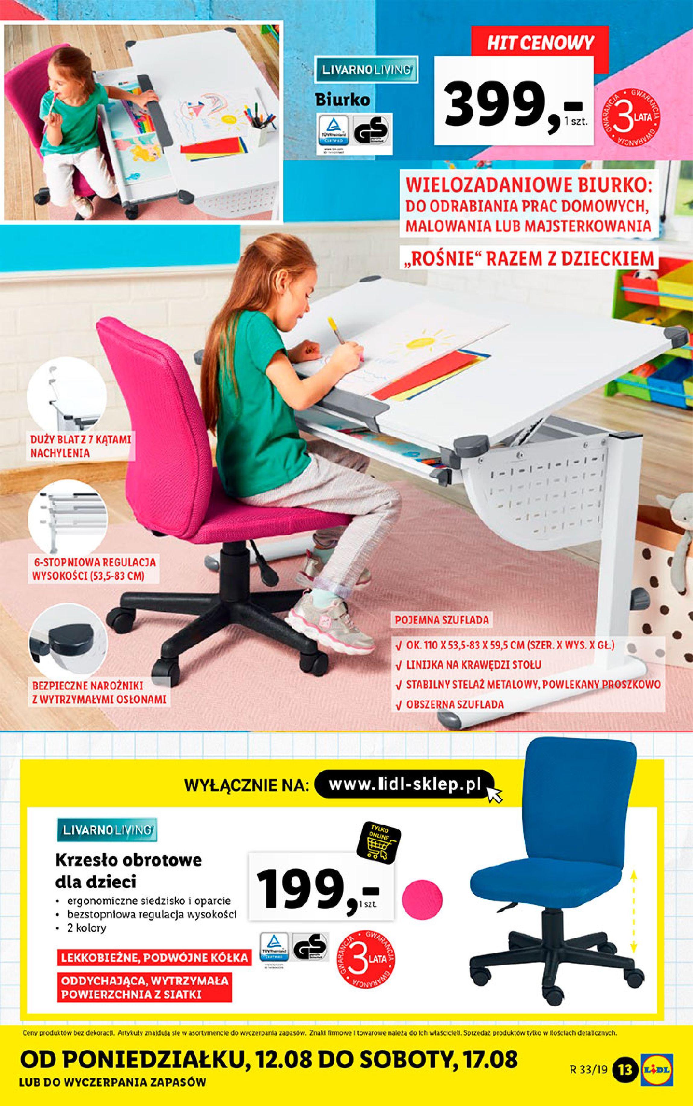 Gazetka Lidl - Katalog-11.08.2019-17.08.2019-page-13