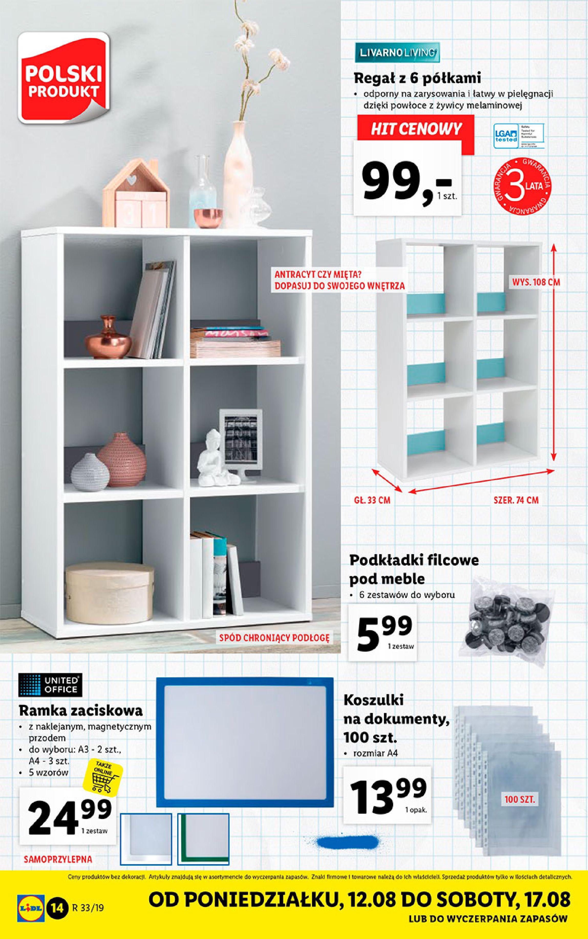Gazetka Lidl - Katalog-11.08.2019-17.08.2019-page-14