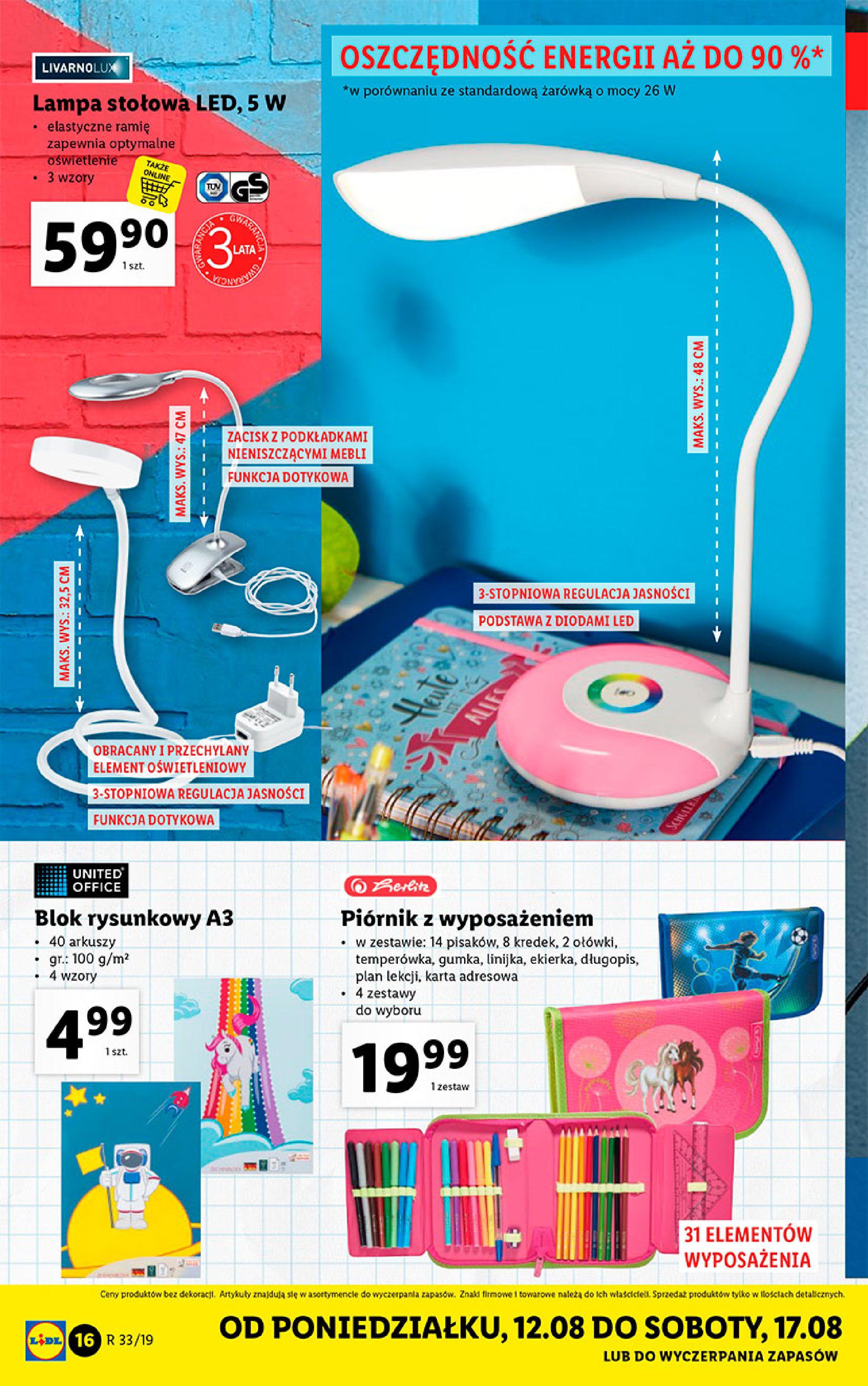 Gazetka Lidl - Katalog-11.08.2019-17.08.2019-page-16