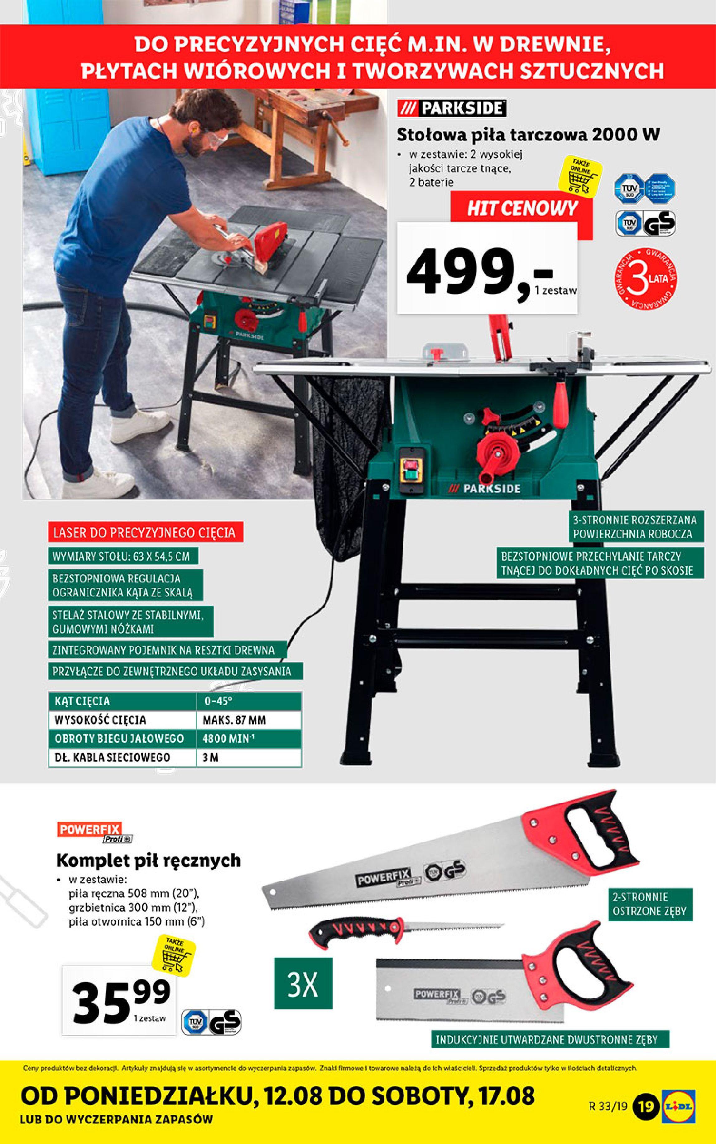Gazetka Lidl - Katalog-11.08.2019-17.08.2019-page-19