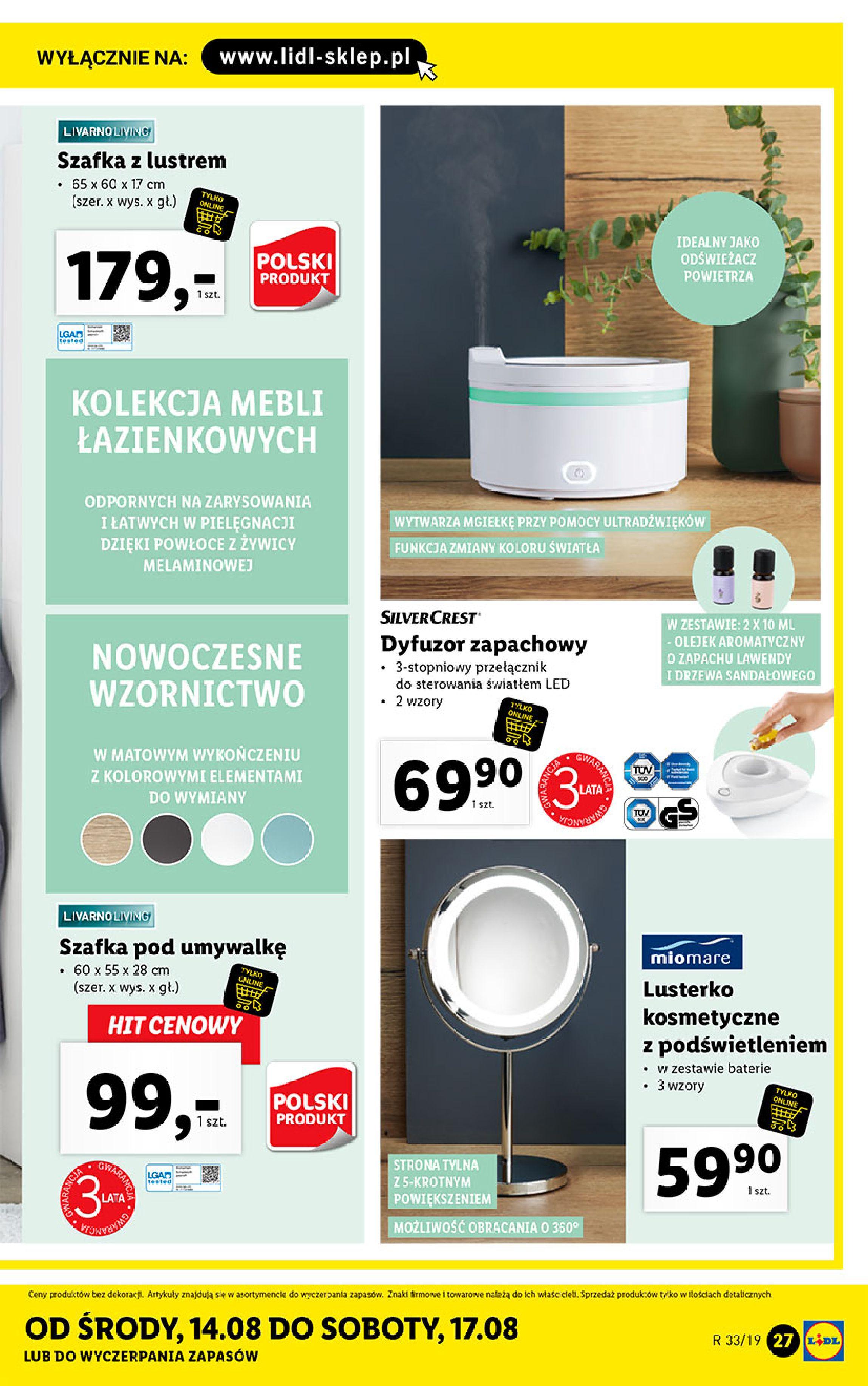 Gazetka Lidl - Katalog-11.08.2019-17.08.2019-page-27