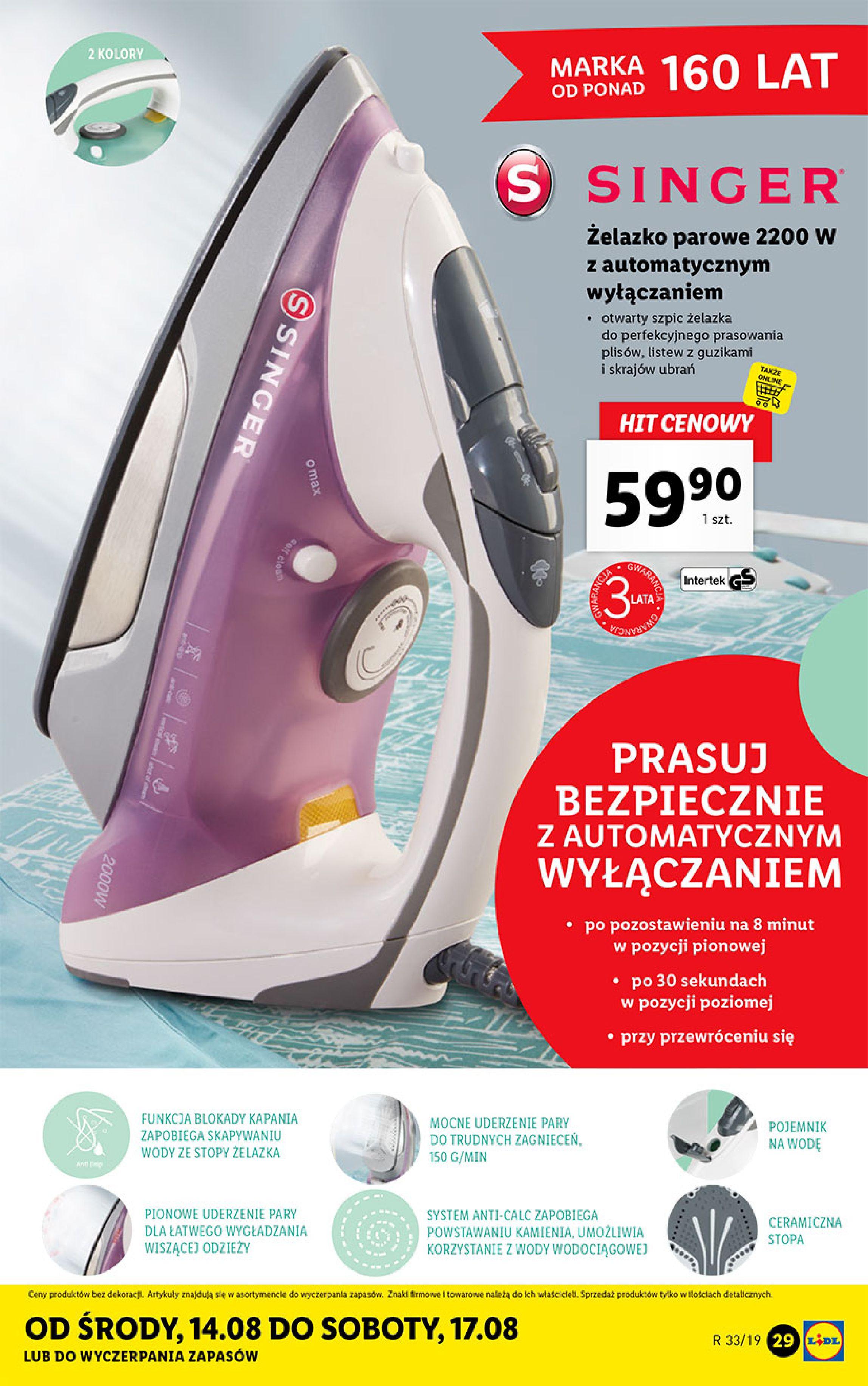 Gazetka Lidl - Katalog-11.08.2019-17.08.2019-page-29