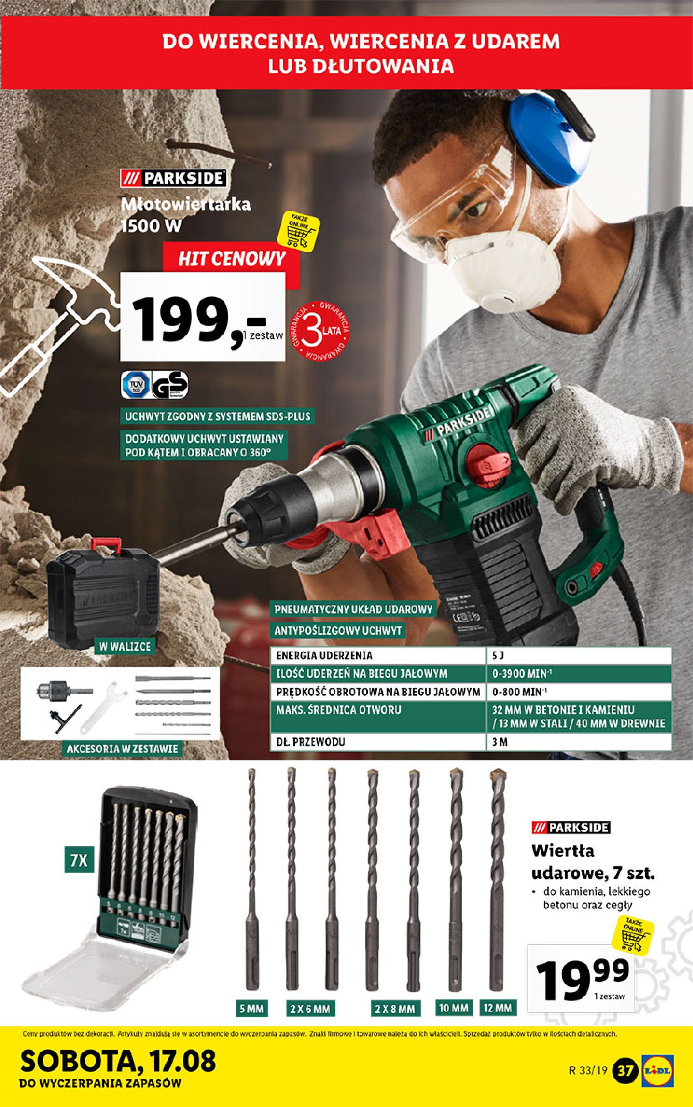 Gazetka Lidl - Katalog-11.08.2019-17.08.2019-page-37