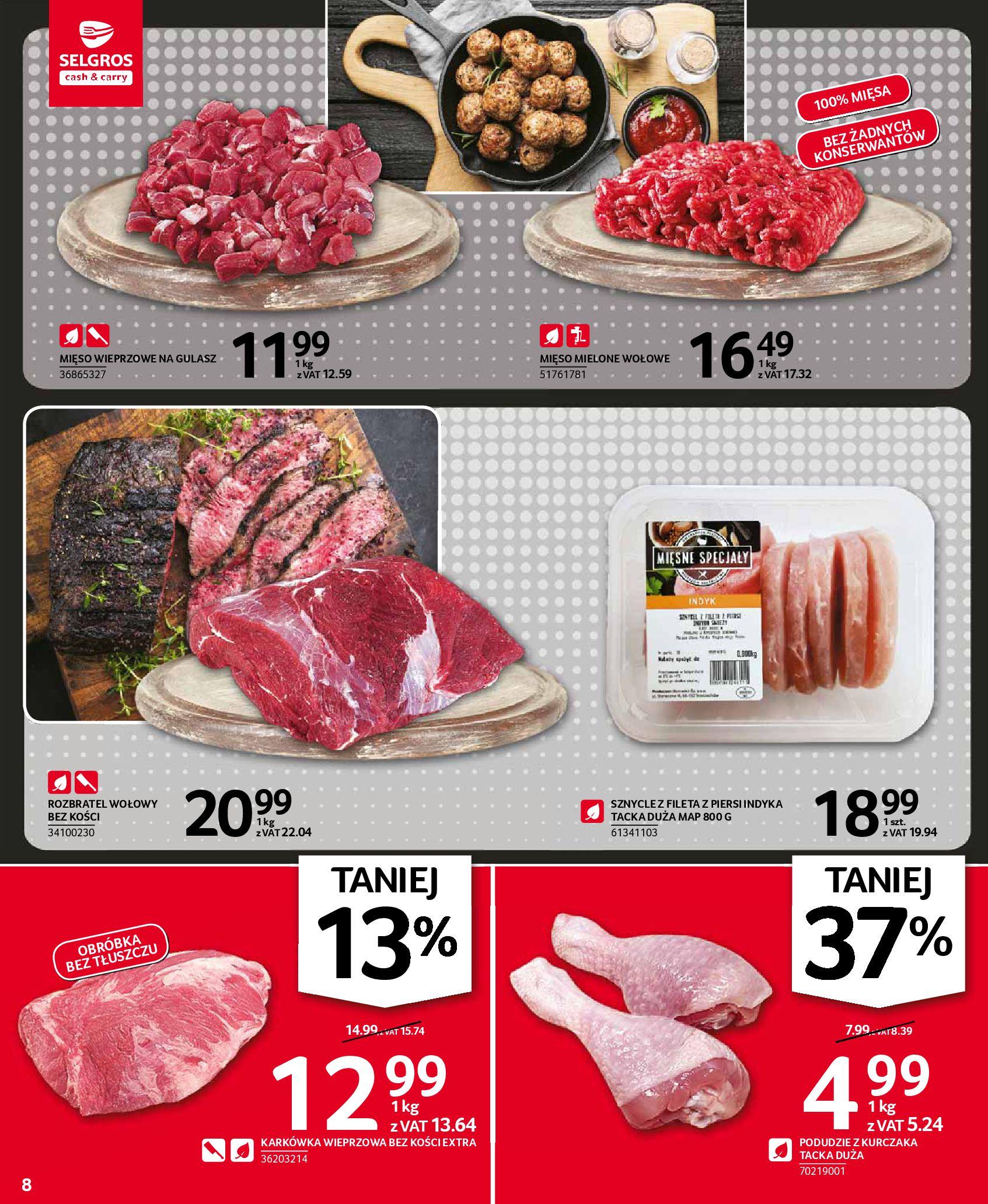 Gazetka Selgros: Oferta spożywcza 2021-01-07 page-8