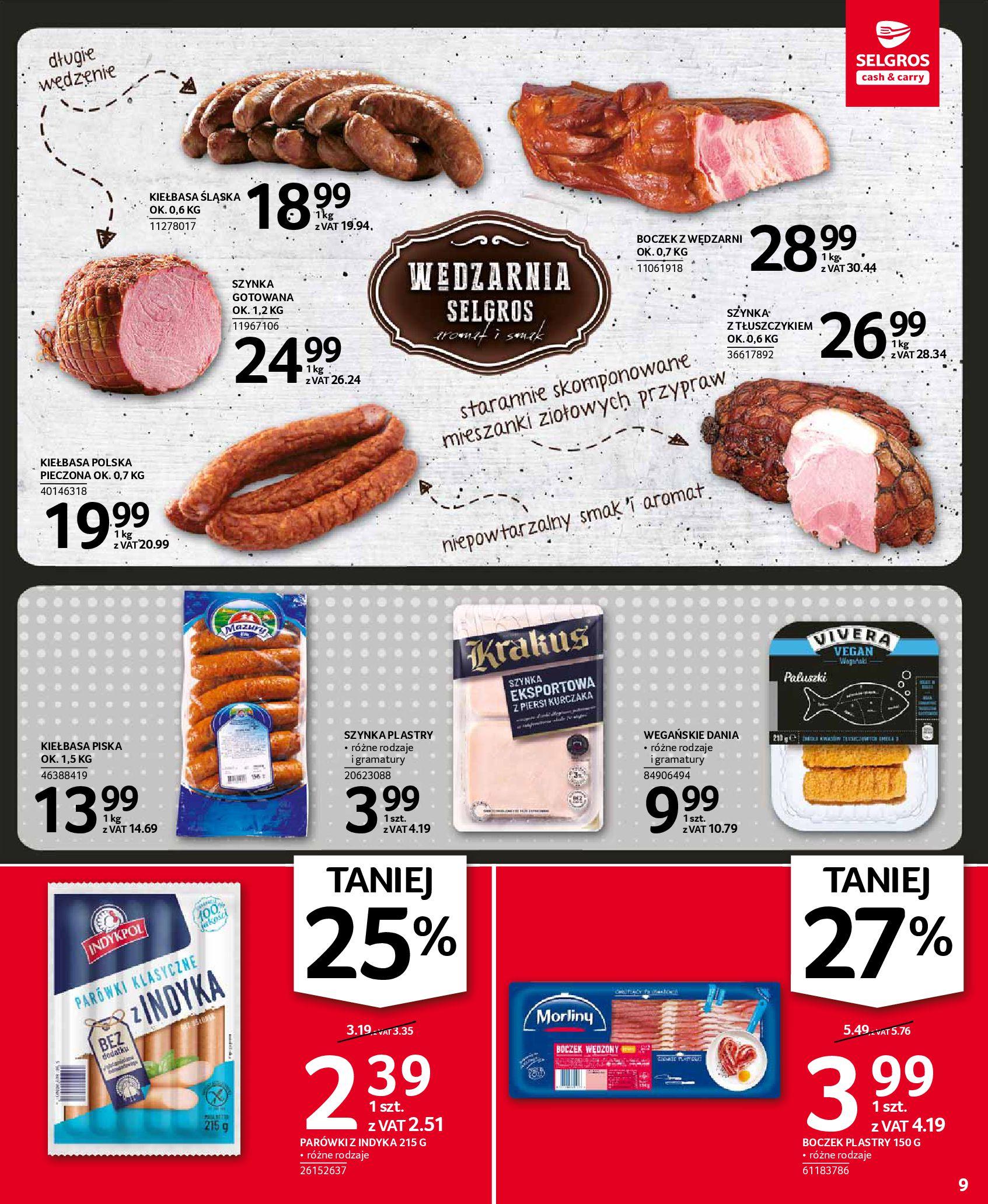 Gazetka Selgros: Oferta spożywcza 2021-01-07 page-9