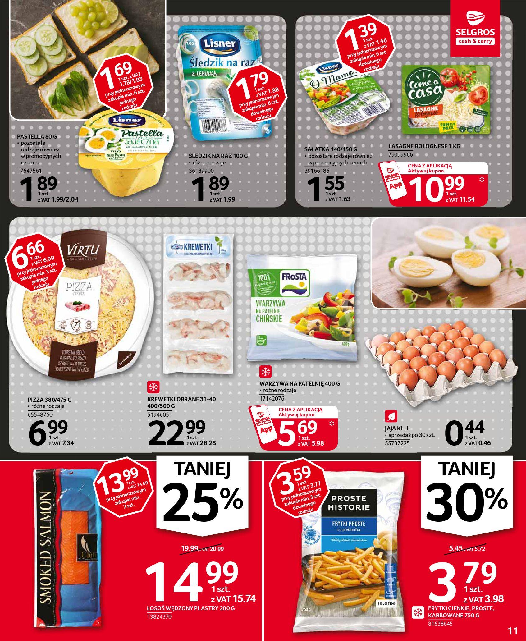 Gazetka Selgros: Oferta spożywcza 2021-01-07 page-11